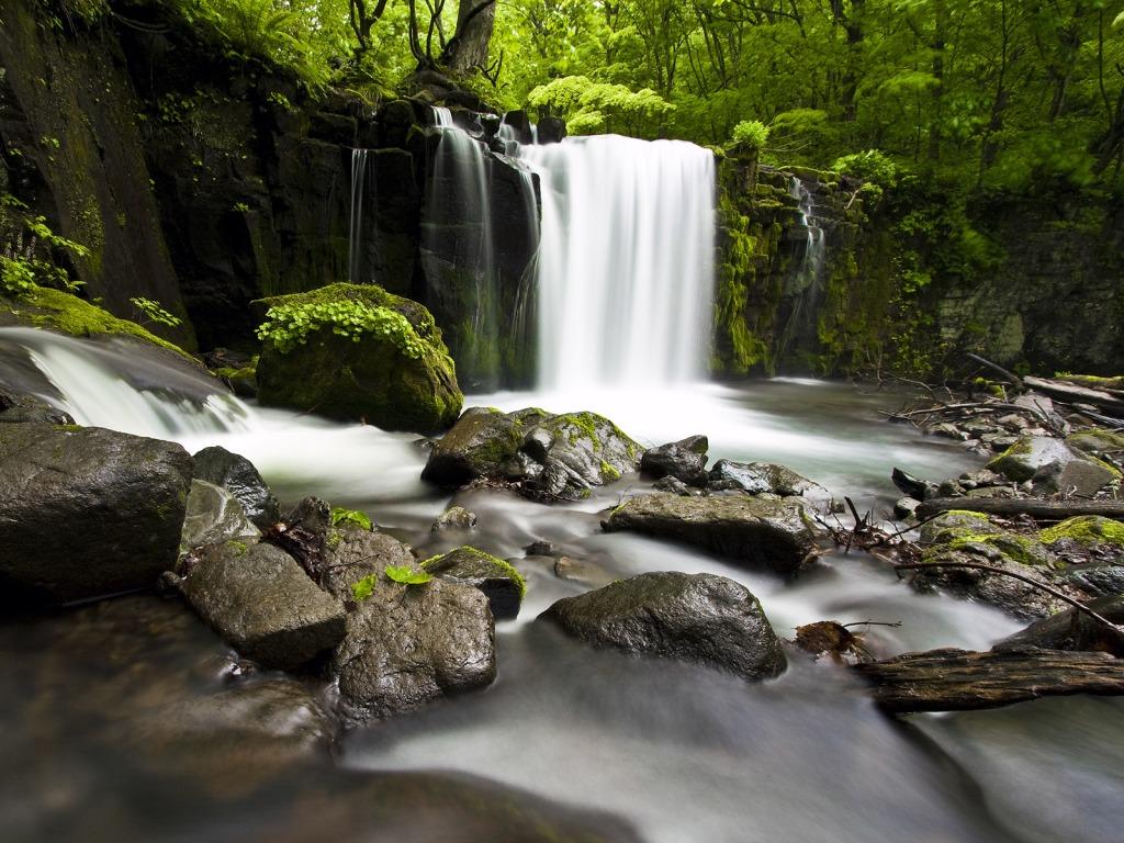 Beautiful Waterfall Wallpaper Rivers Nature Wallpapers in jpg ...