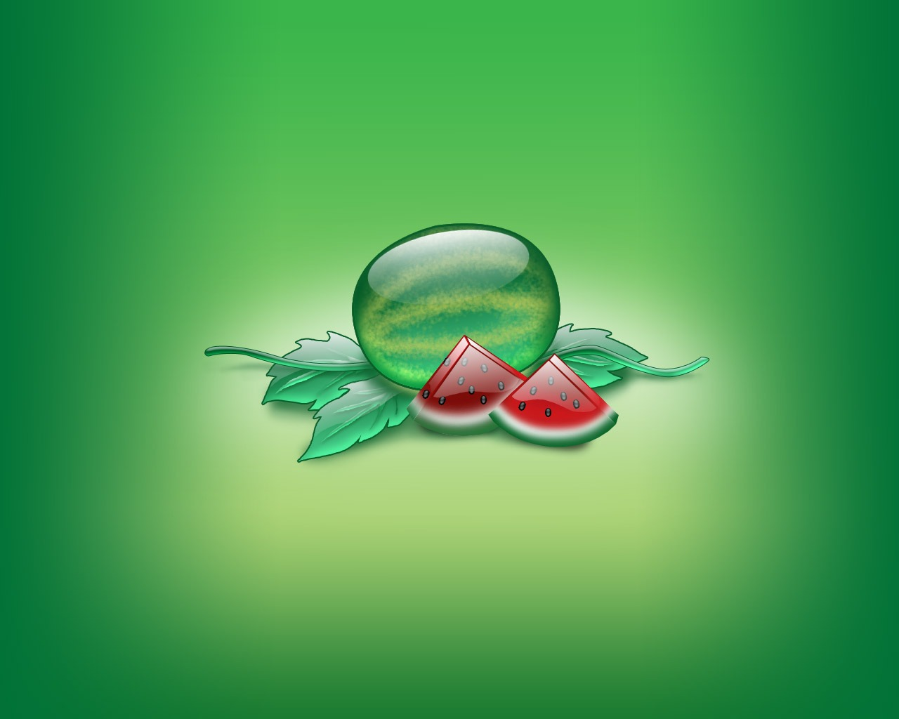 Aqua Watermelon Wallpaper Abstract 3D Wallpapers in jpg format for ...