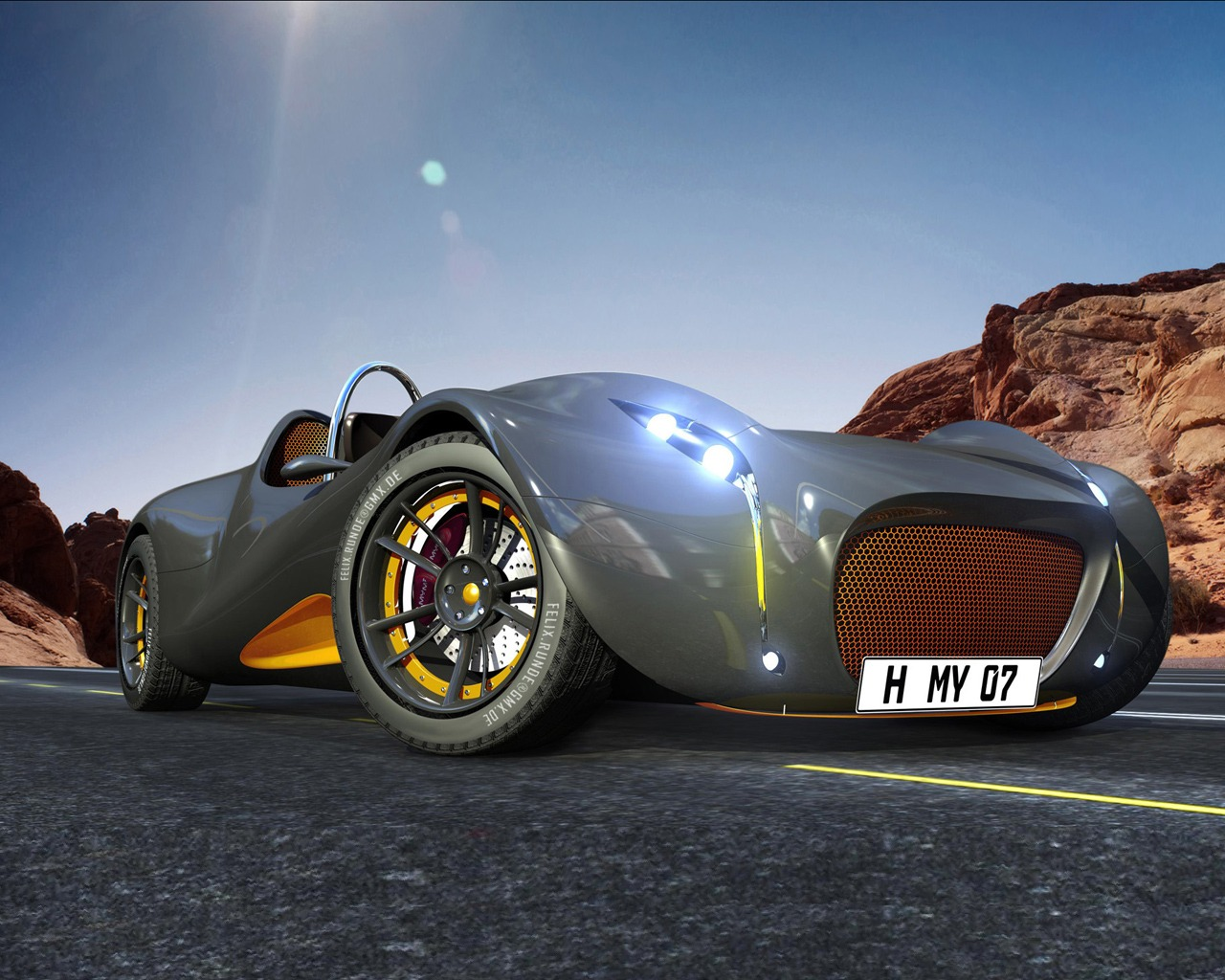 morey concept car wallpaper 3d models 3d wallpapers - Cool Cars Wallpapers 3d