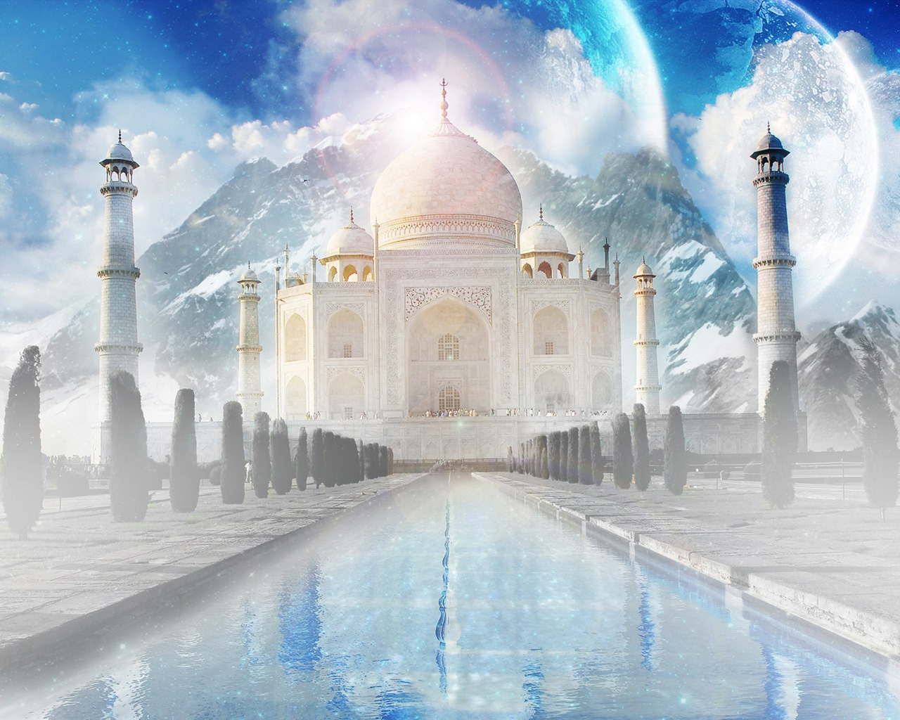 The Taj Mahal Wallpaper India World Wallpapers In Jpg Format For
