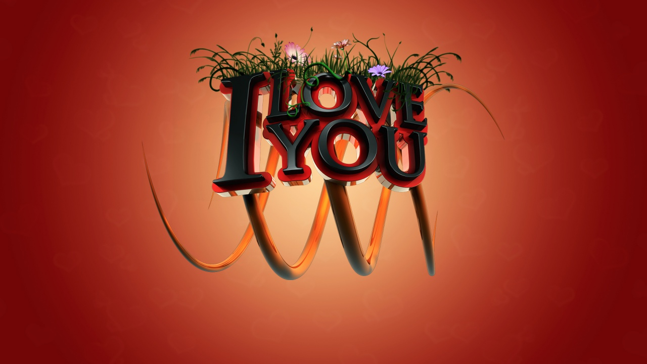 I Love You 3d Wallpapers In Jpg Format For Free Download