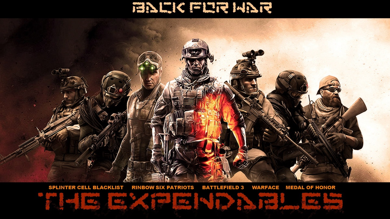 the expendables game heroes wallpapers in jpg format for free download
