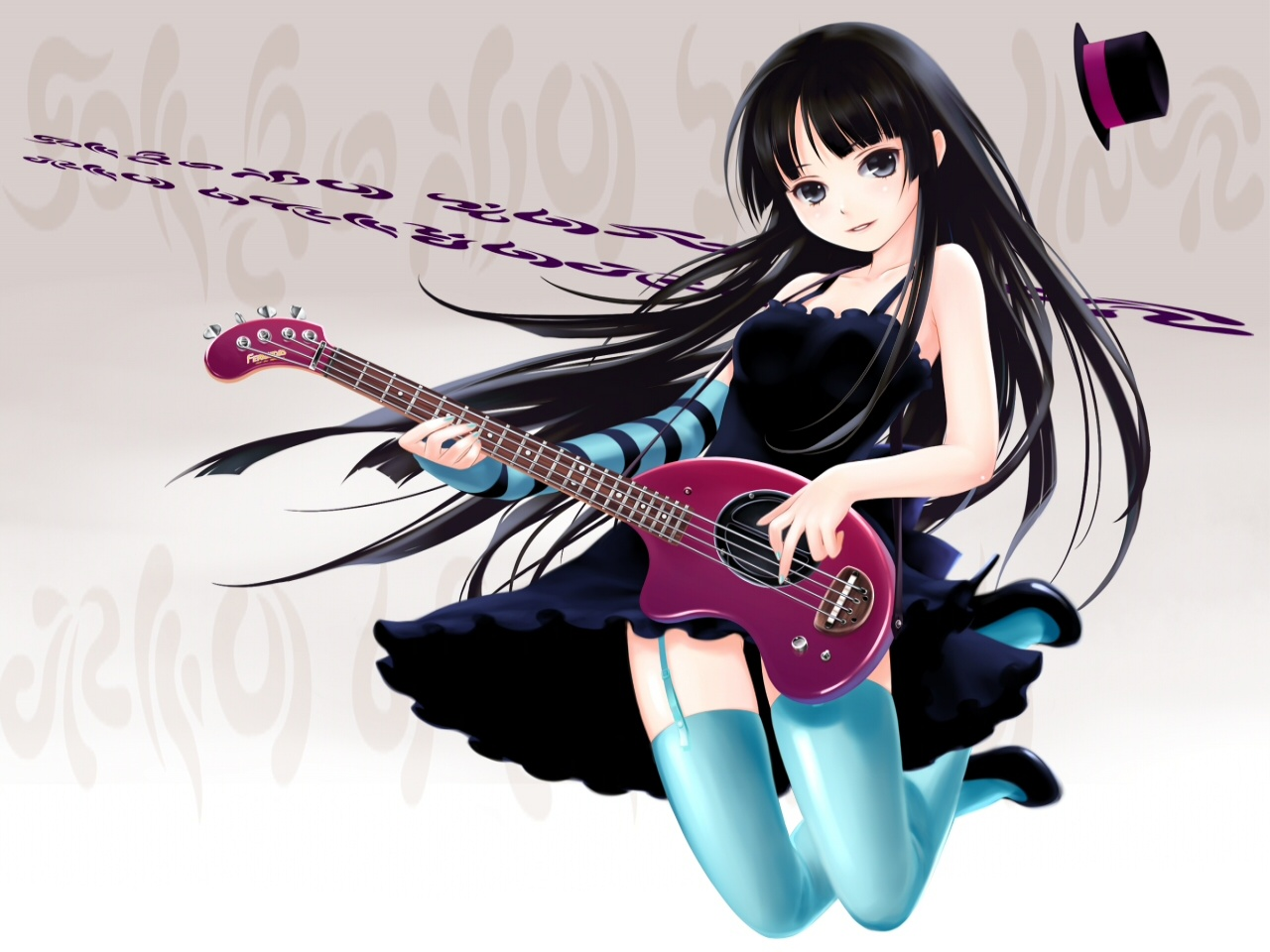 <b>Anime Girl</b> With <b>Instrument</b> HD <b>Wallpaper</b> | 1920x1080 | ID:30593