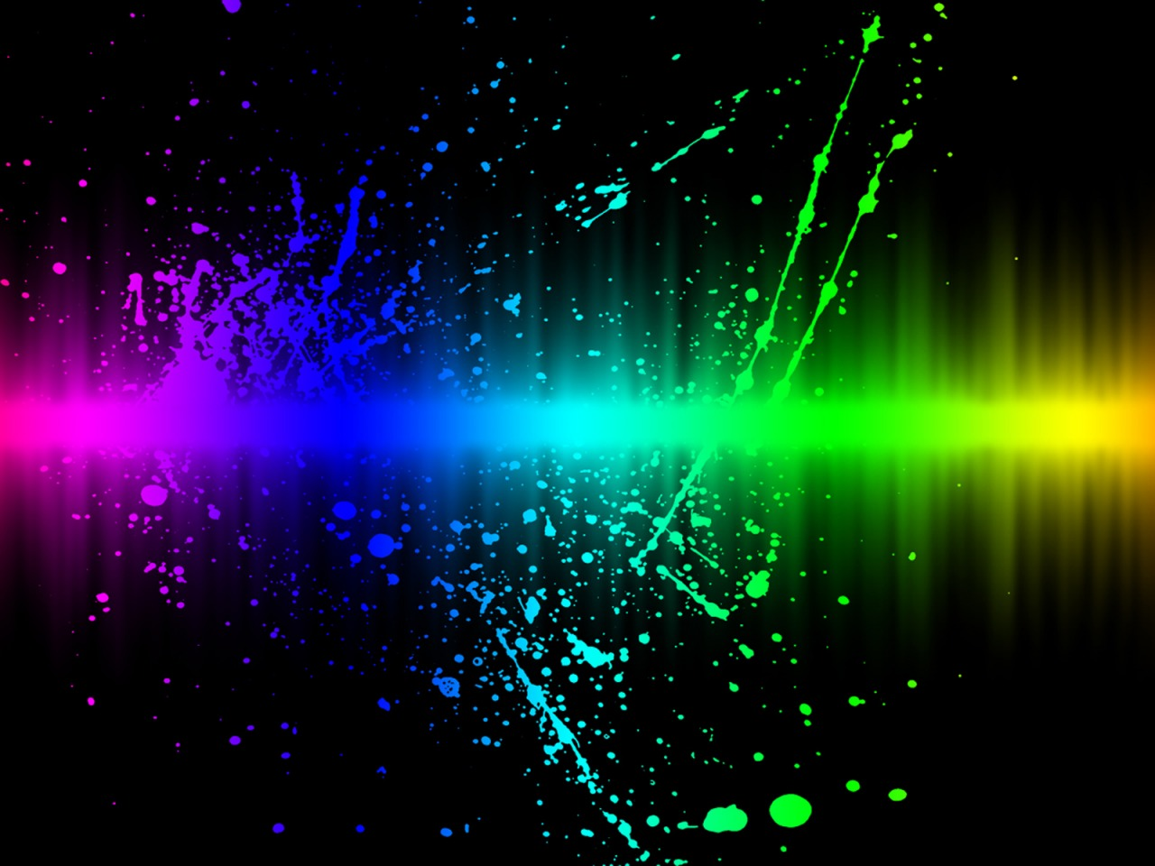 Colors Explosion Wallpaper Abstract 3D Wallpapers