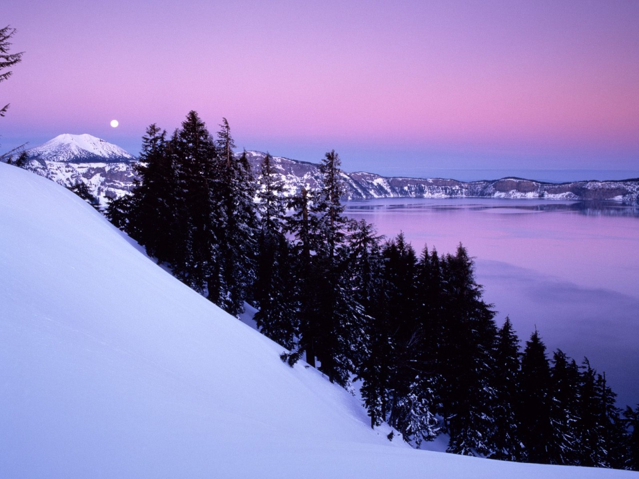 crater lake national park wallpaper winter nature wallpapers in jpg