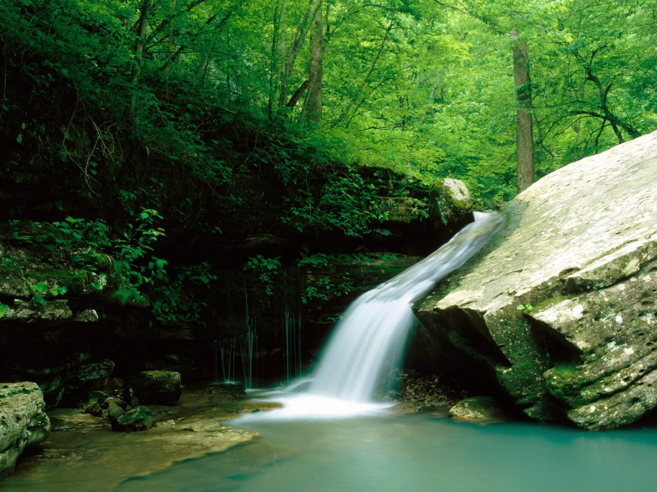 Indian Creek Wallpaper Waterfalls Nature Wallpapers in jpg format ...