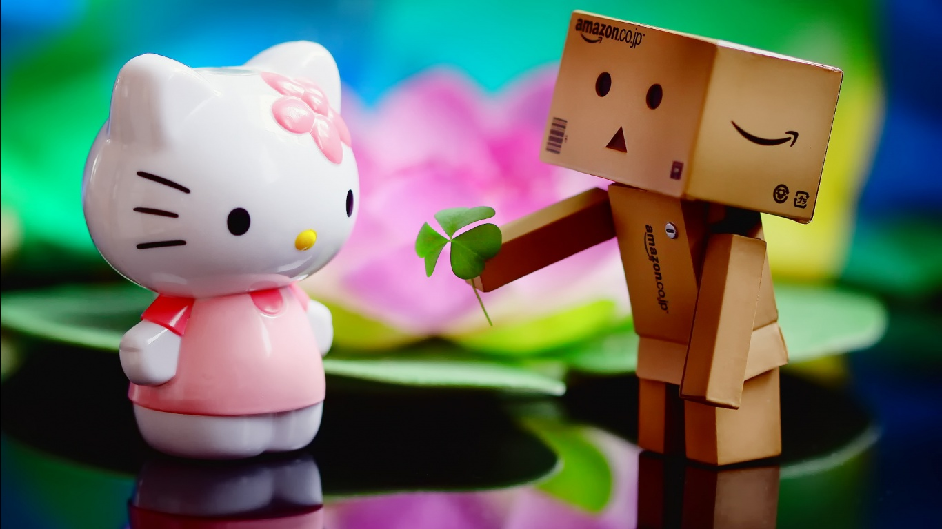 Wallpaper download in love - Love You Kitty Wallpapers