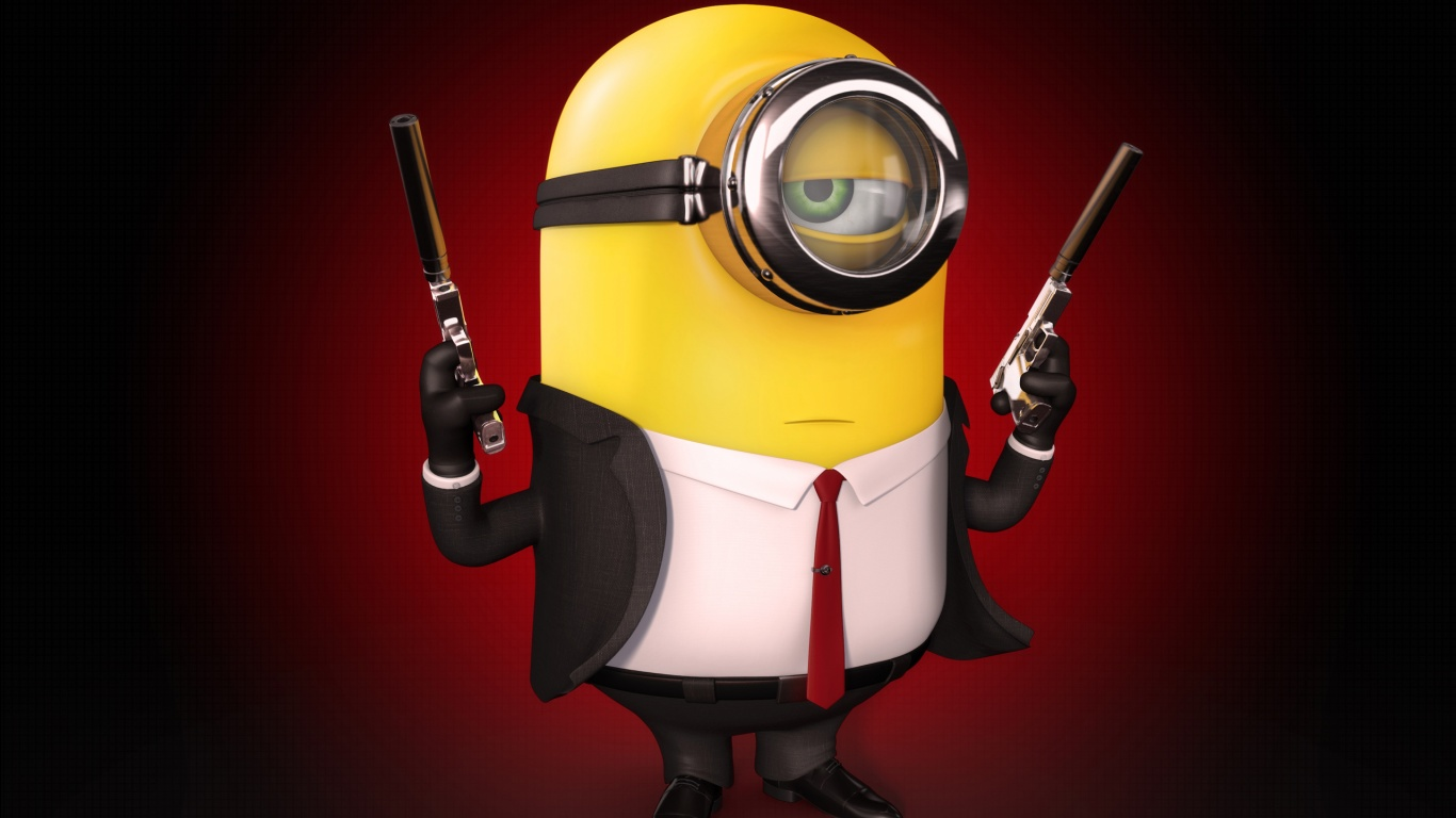 Minion Hitman Wallpapers In Jpg Format For Free Download