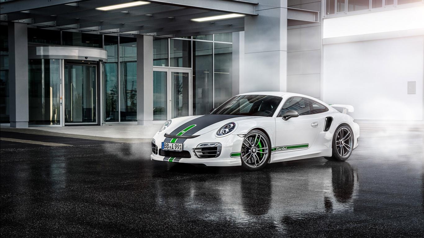 TechArt Porsche Turbo GTstreet R wallpaper Car wallpapers