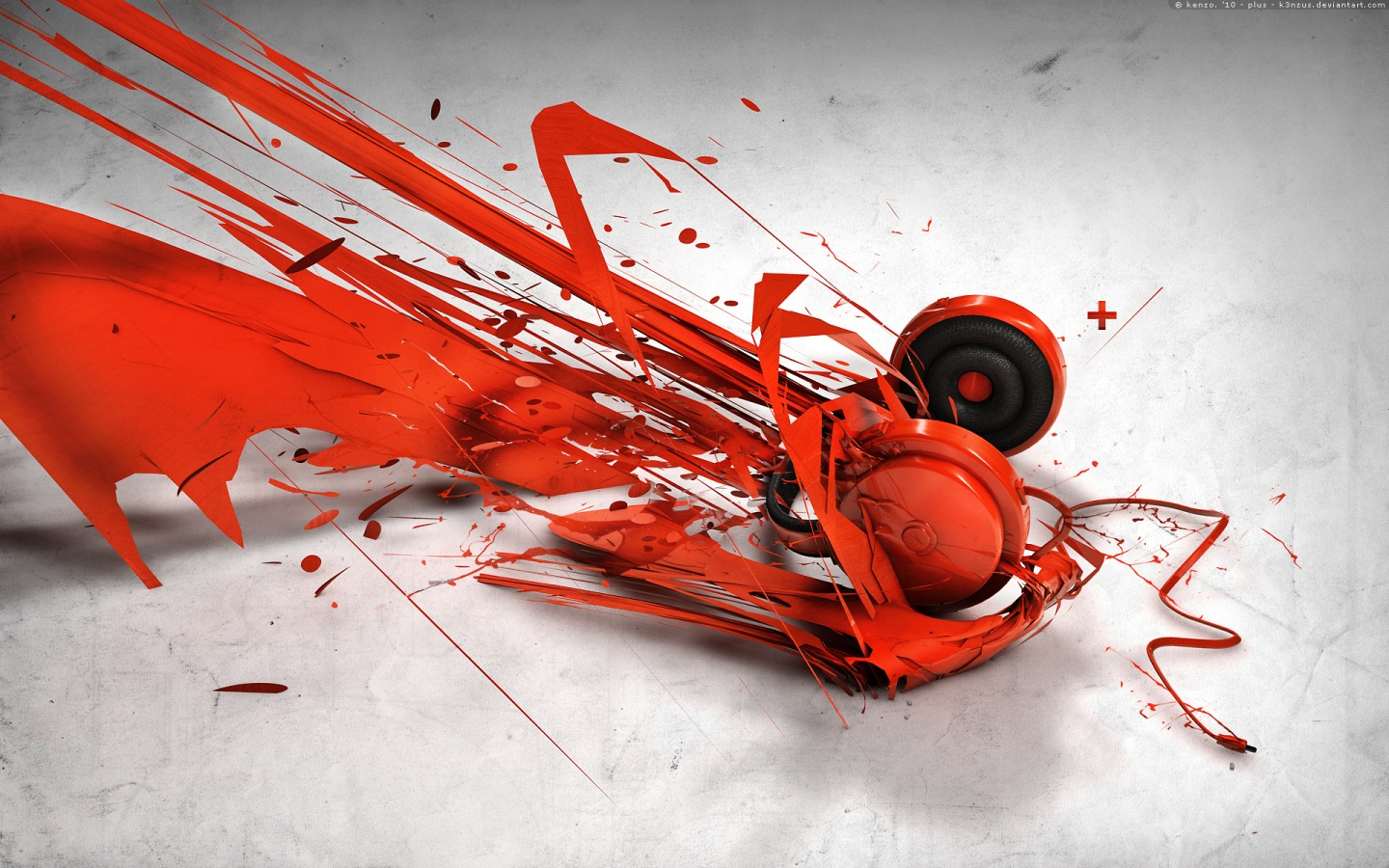 Abstract Music Headphones Wallpapers In Jpg Format For Free Download