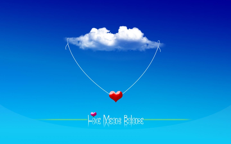 Most Inspiring Wallpaper Love Blue - love_means_balance_4827  Graphic_738430.jpg