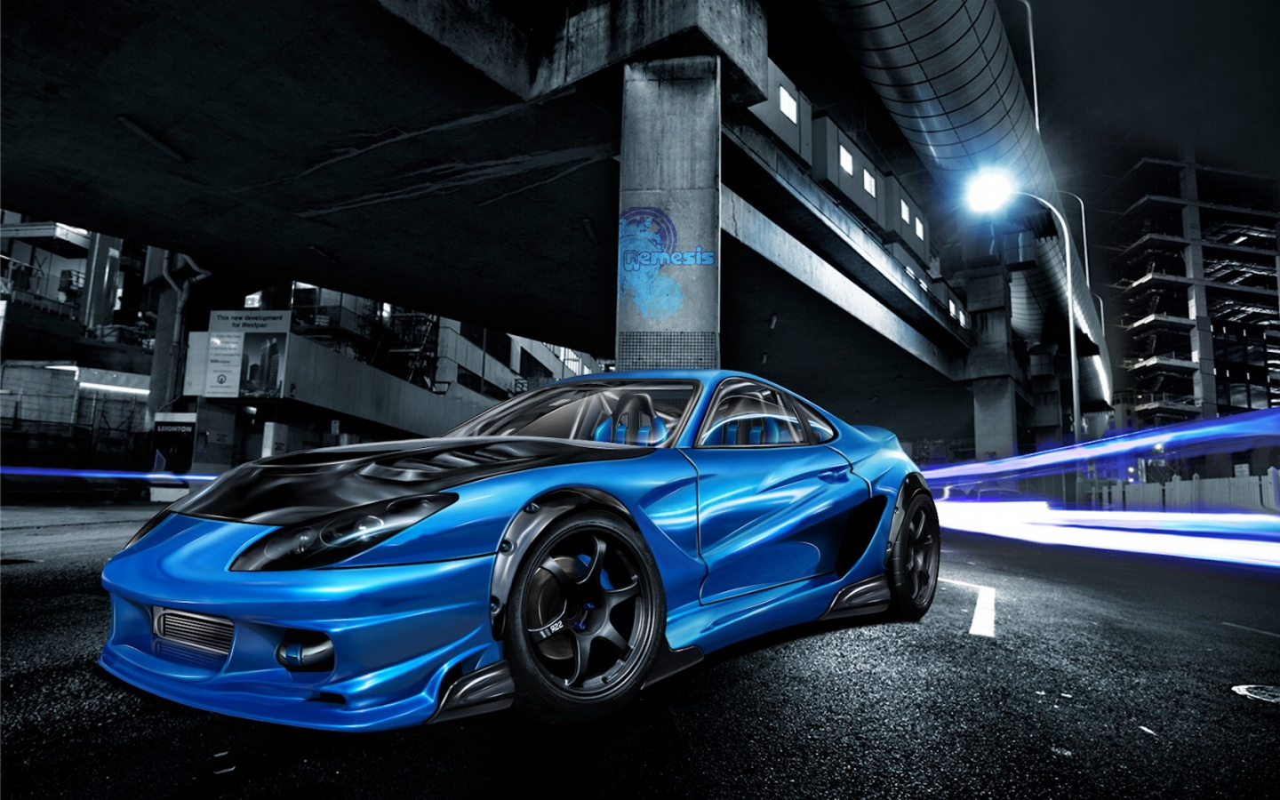 Street Race Car Wallpapers In Jpg Format For Free Download
