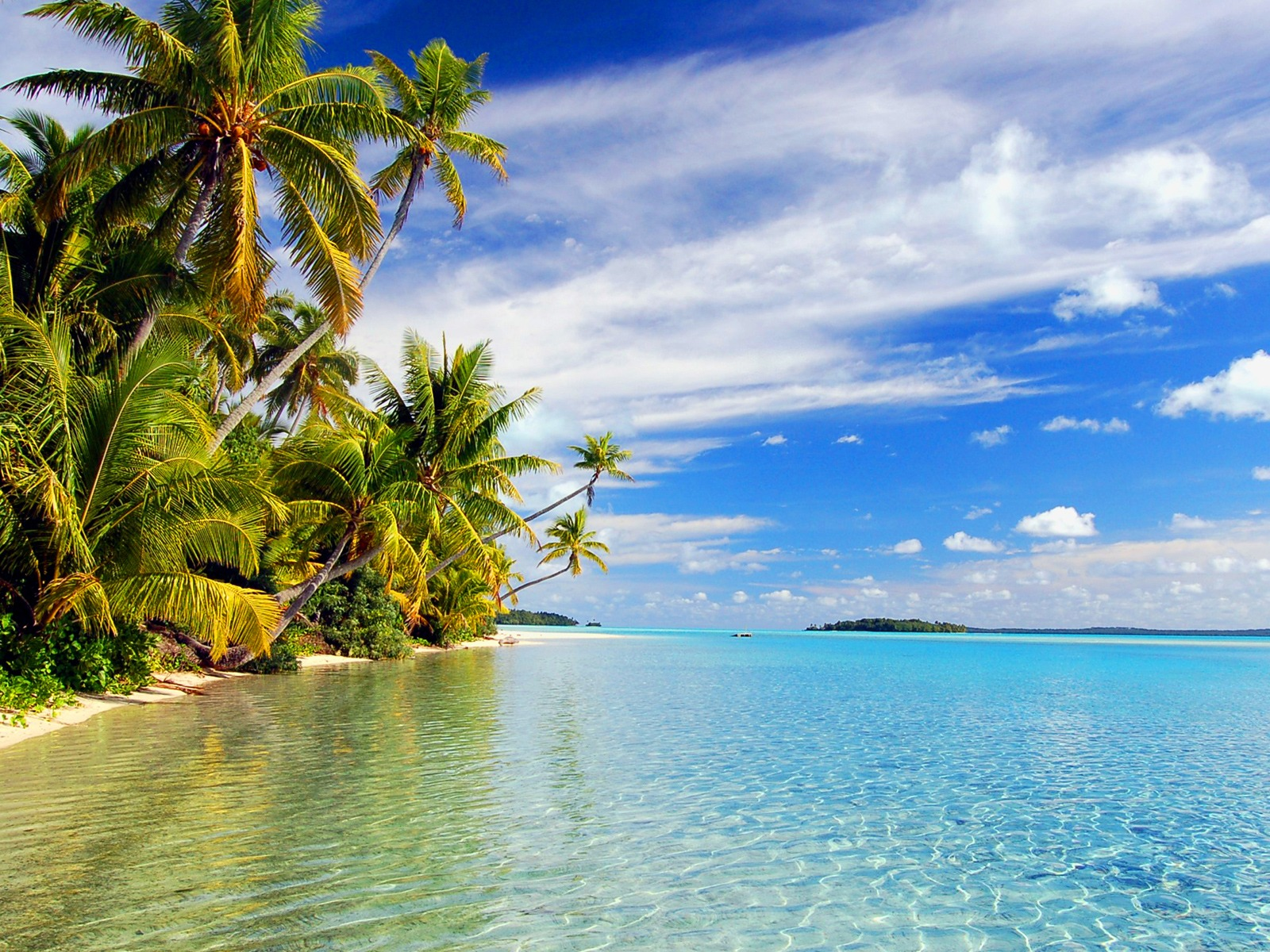 Aitutaki Lagoon Wallpaper Beaches Nature Wallpapers In