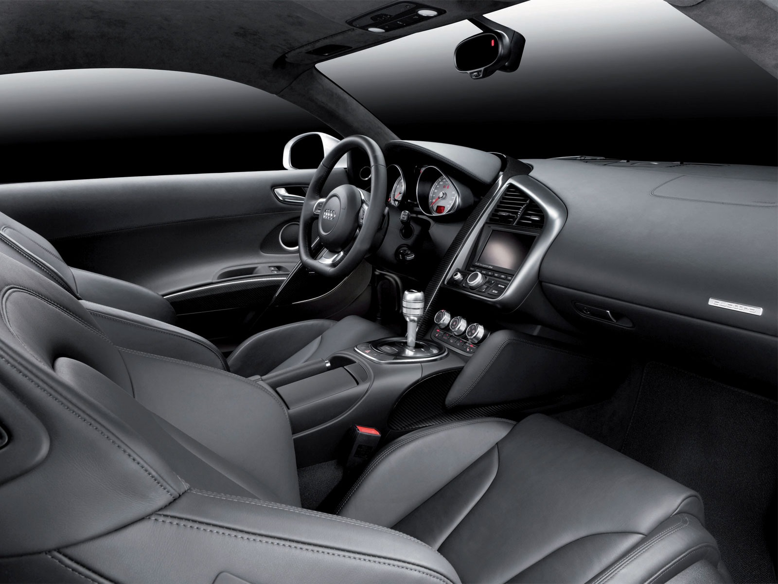 black audi r8 interior. audi r8 interior wallpaper cars wallpapers black