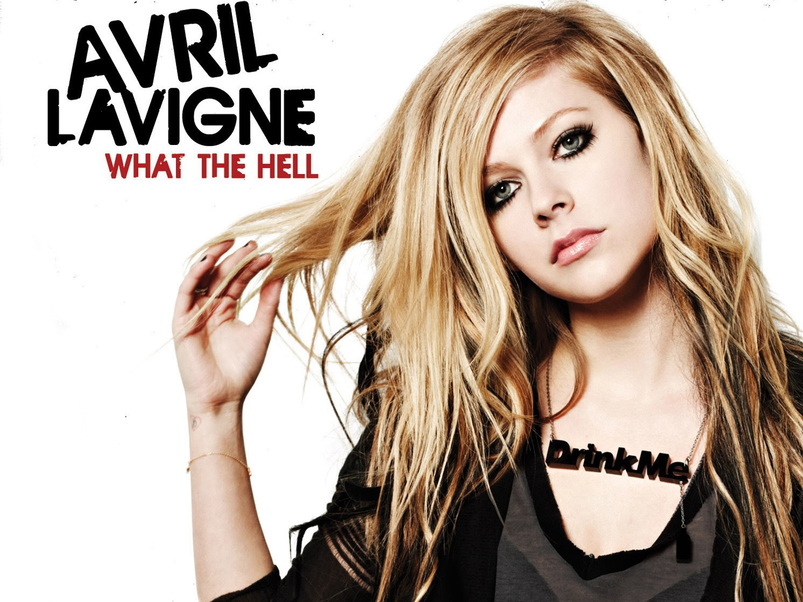 avril lavigne what the hell wallpapers in jpg format for free download