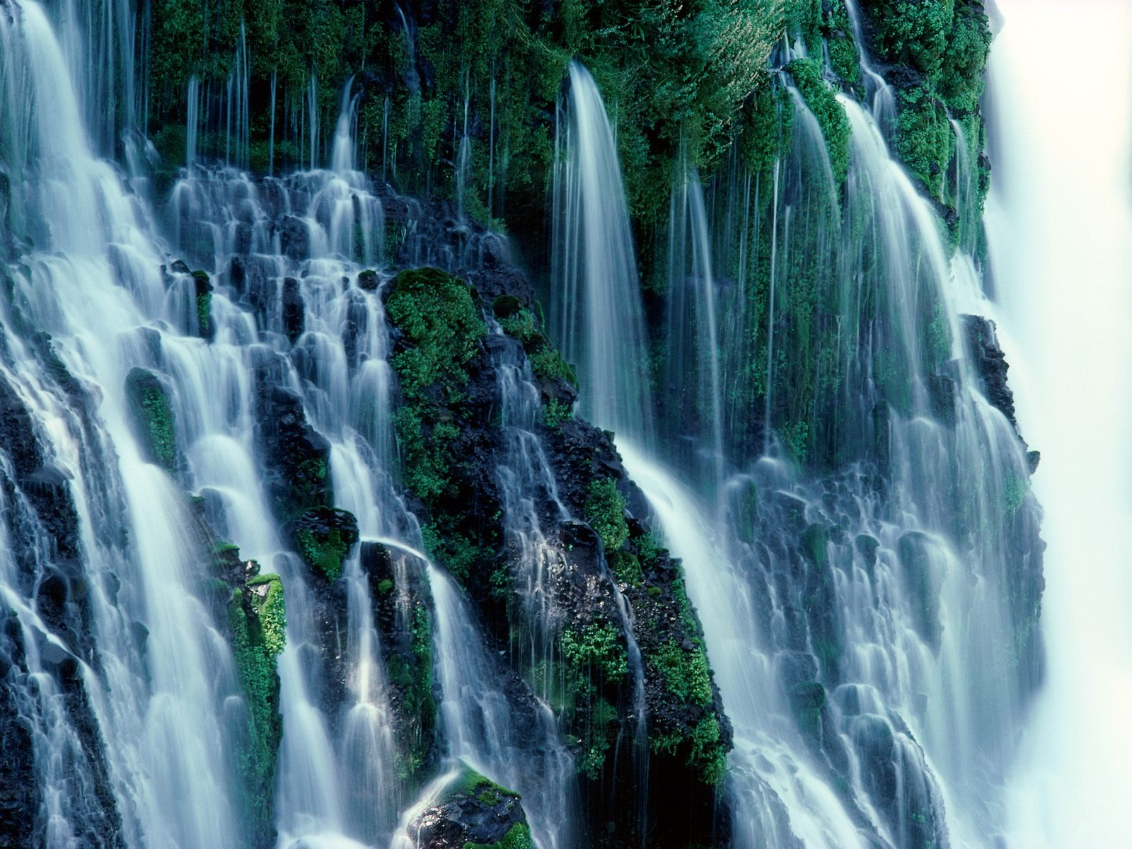 Burney Falls Wallpaper Waterfalls Nature Wallpapers In Jpg Format