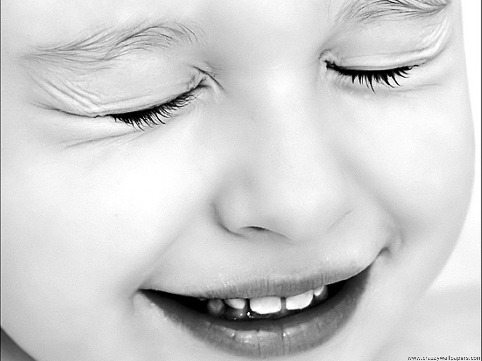 Cute Baby Black And White Wallpapers In Jpg Format For Free Download