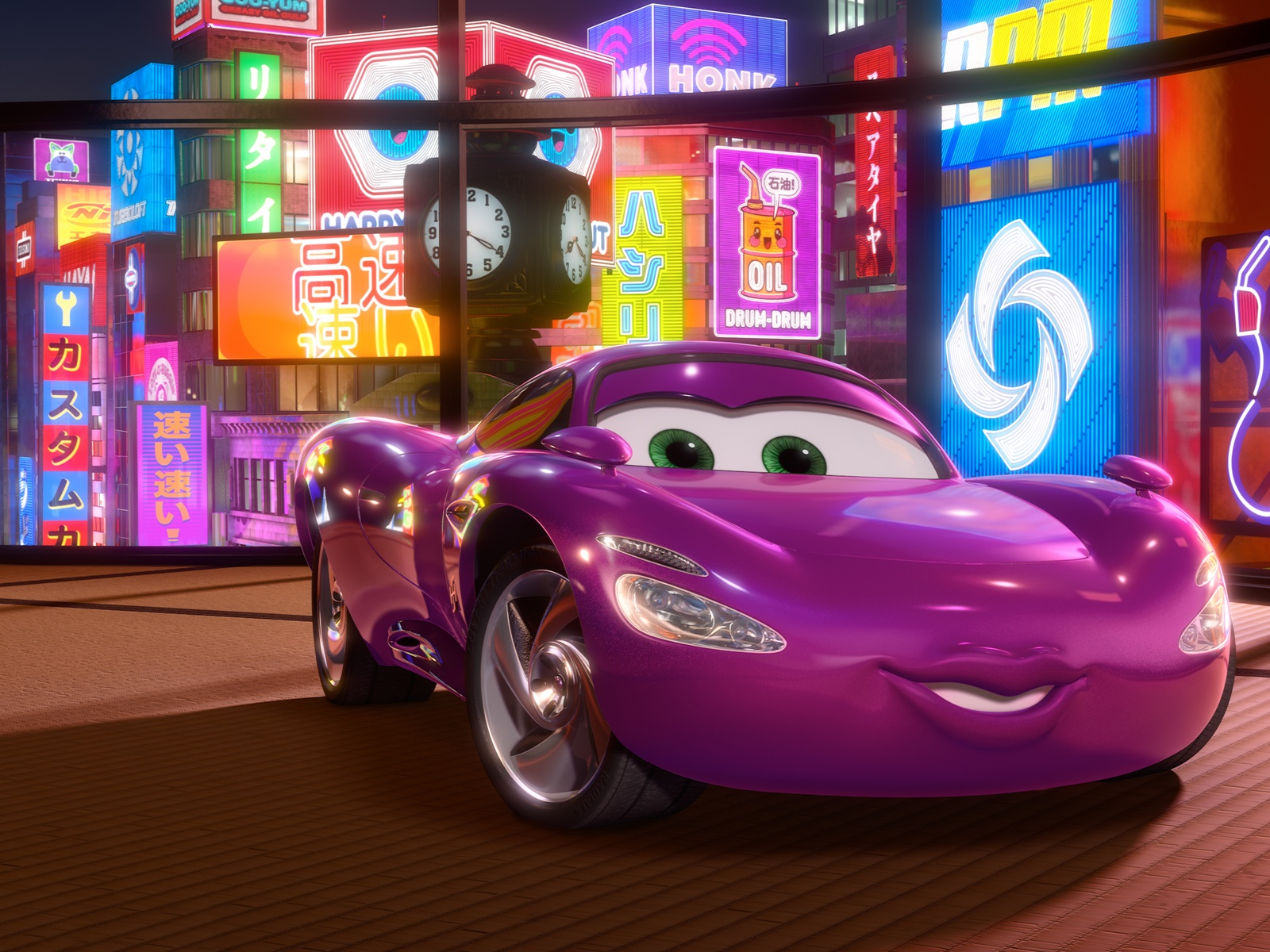 Holley Shiftwell In Cars 2 Movie Wallpapers In Jpg Format For Free