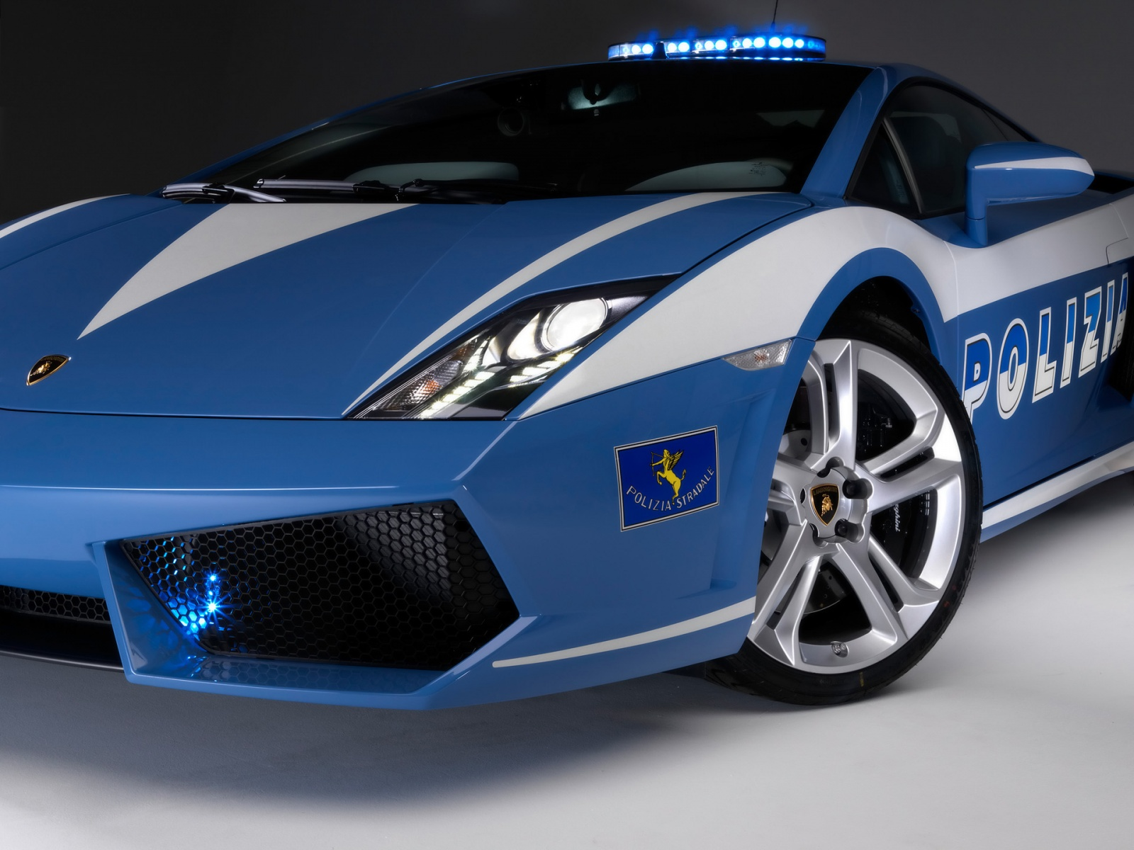 Lamborghini Gallardo Polizia 2009 Wallpapers