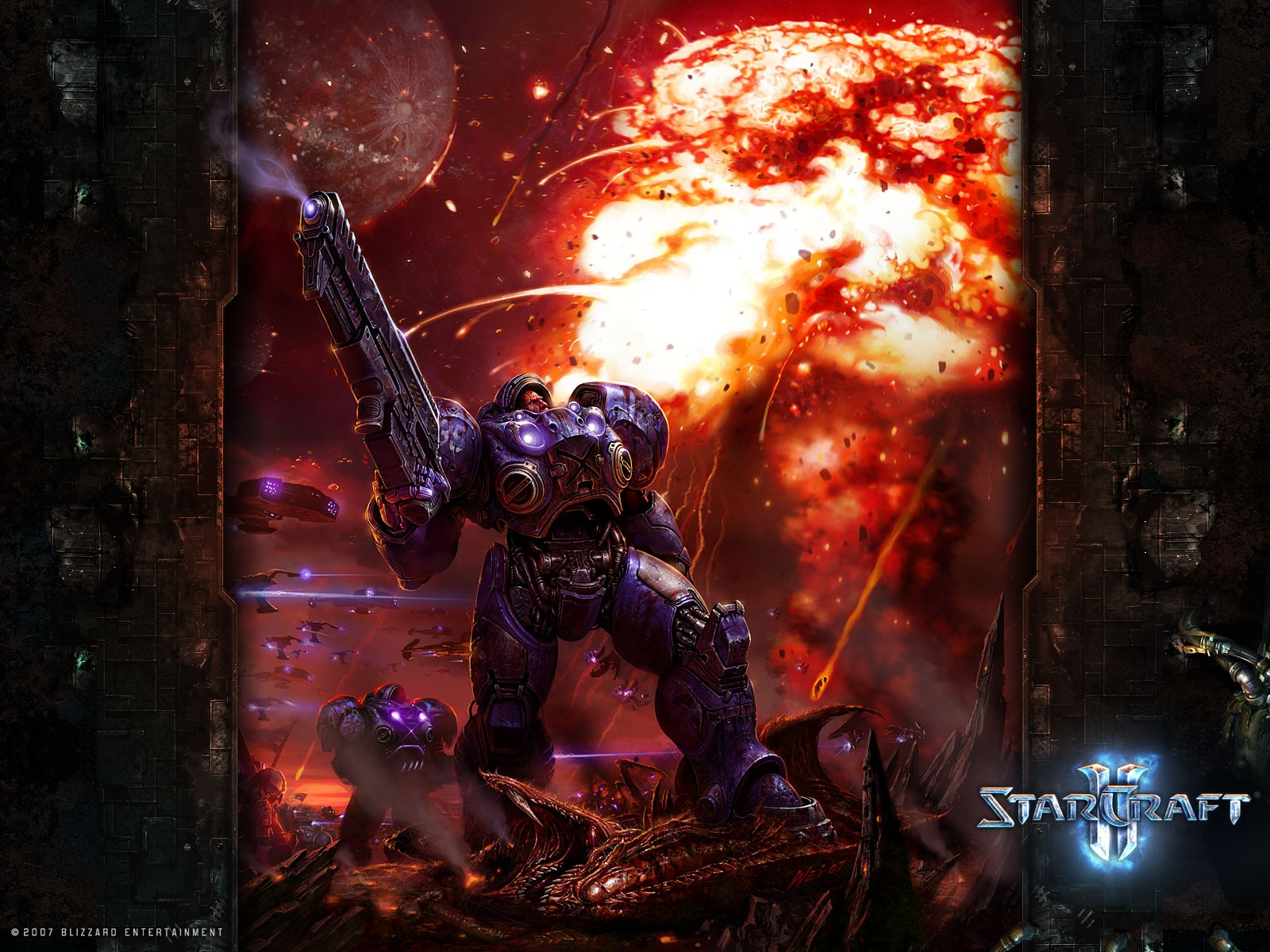 Marine Wallpaper Starcraft Games Wallpapers in jpg format for free