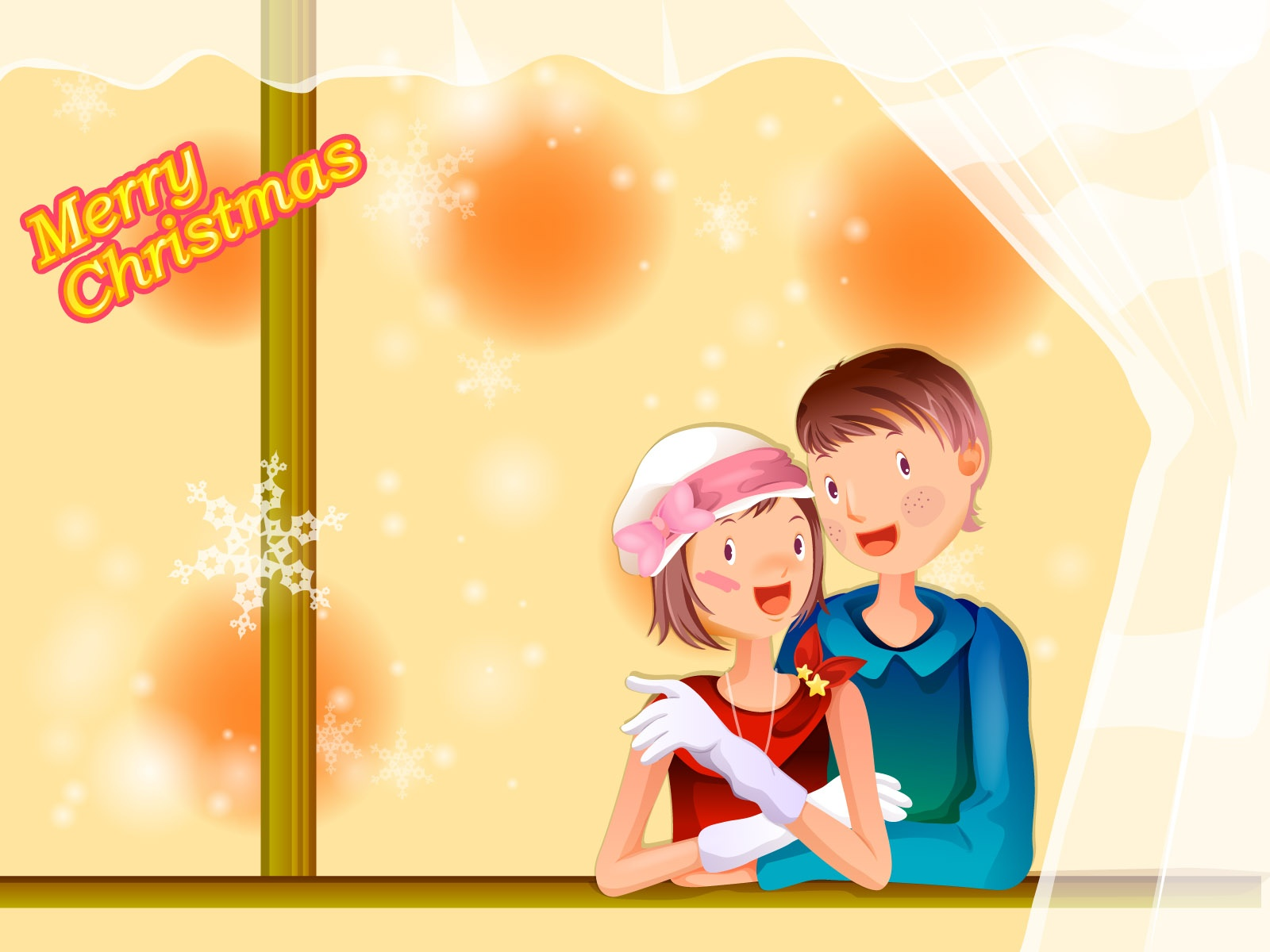 merry christmas with love wallpapers