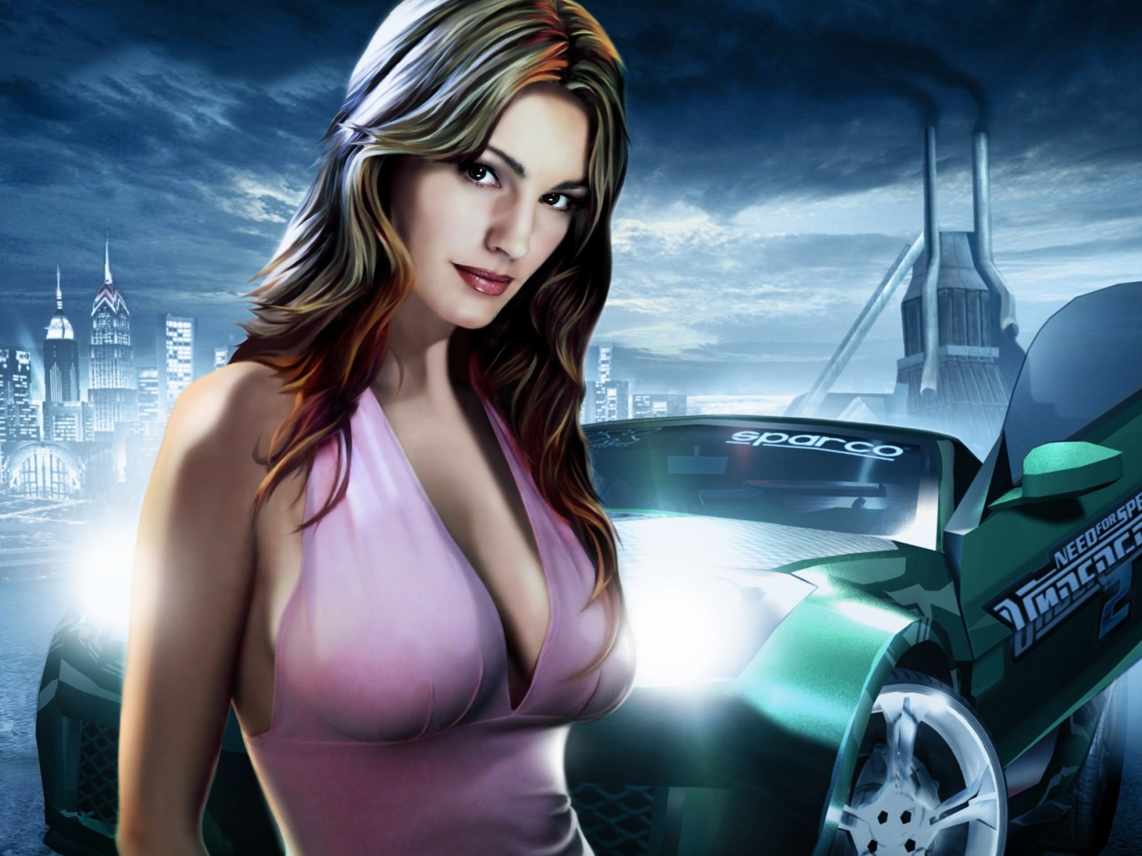 Need For Speed Girl Wallpapers In Jpg Format For Free Download