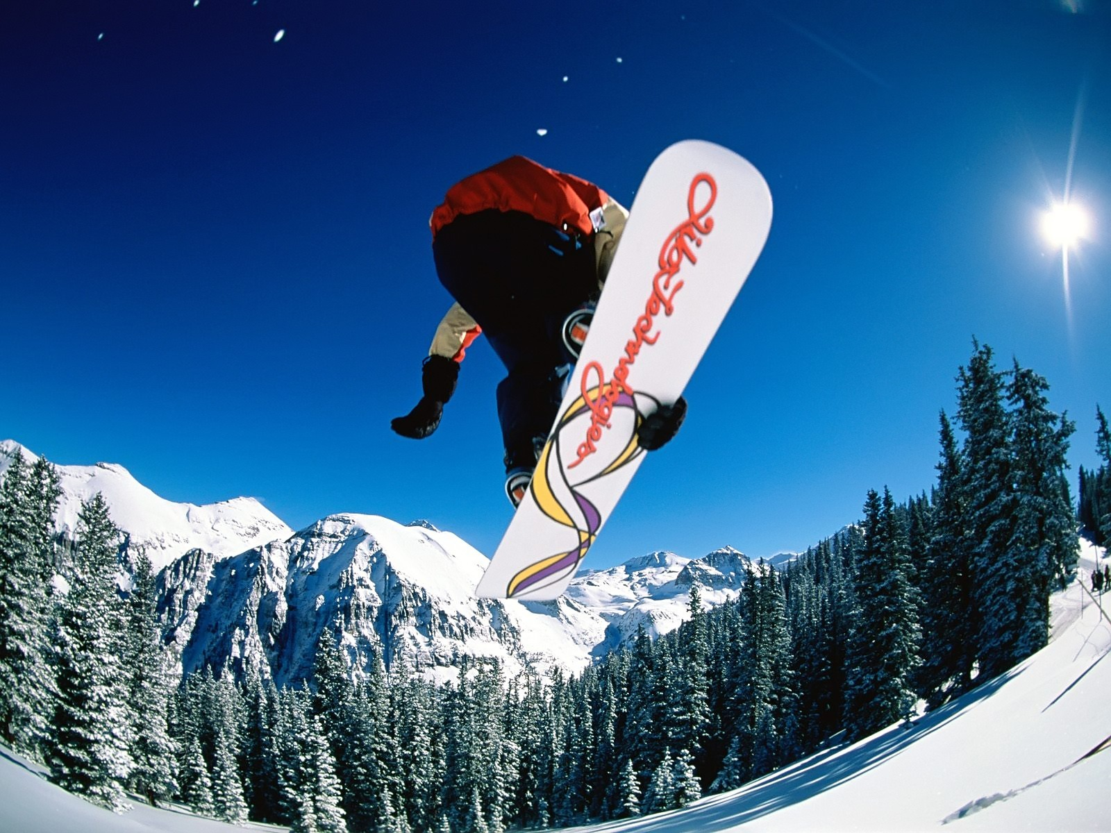 Snowboarding jump Wallpaper Snowboarding Sports Wallpapers