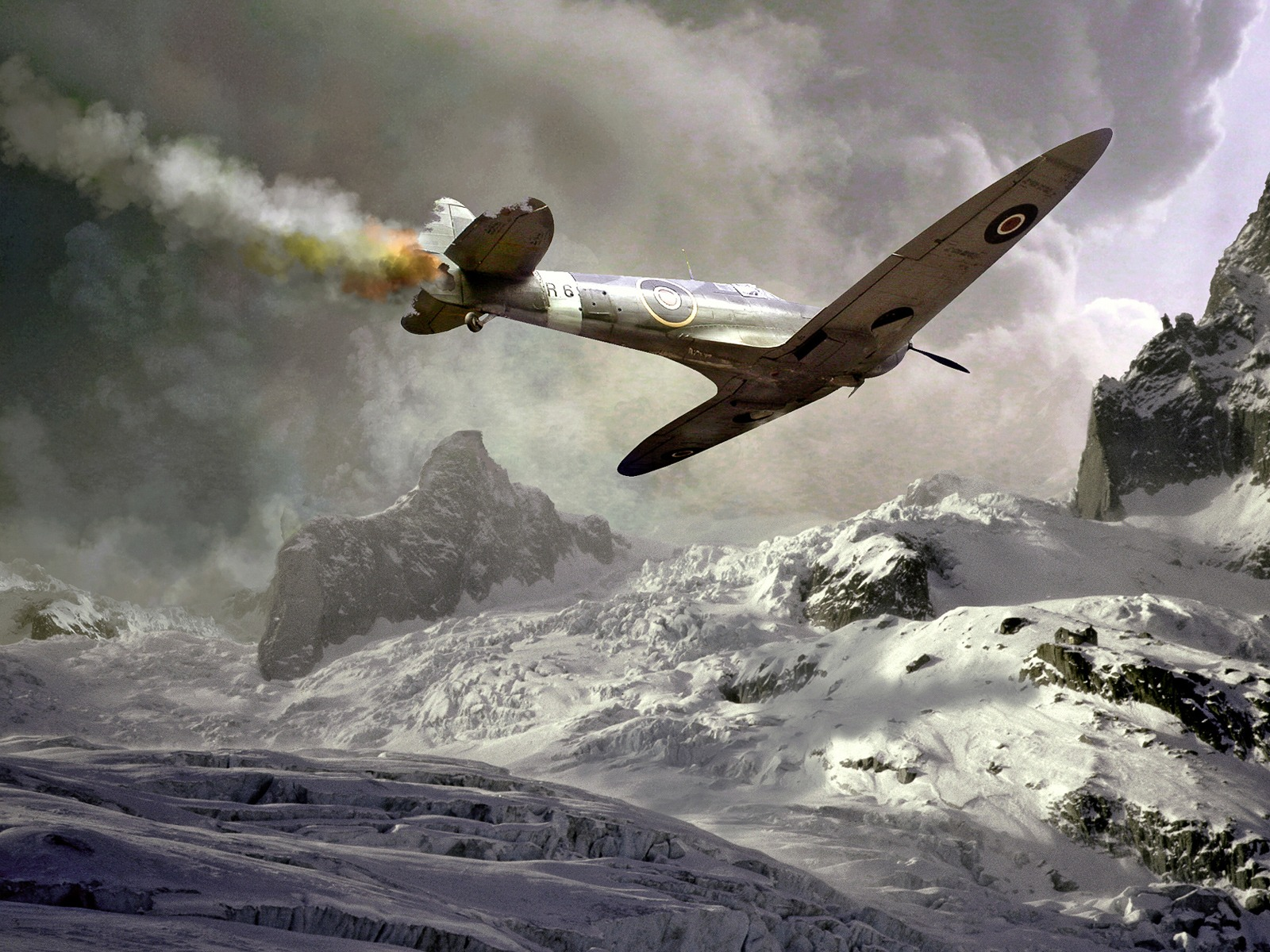 Spitfire Wallpaper Military Aircrafts Planes Wallpapers