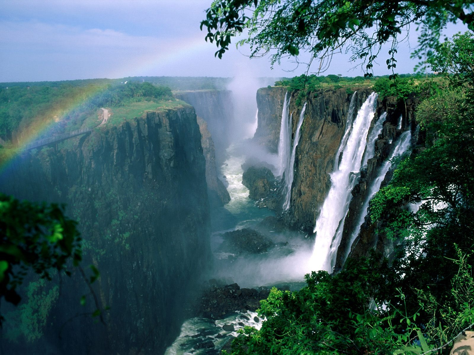 Victoria Falls Wallpaper Waterfalls Nature Wallpapers In Jpg Format