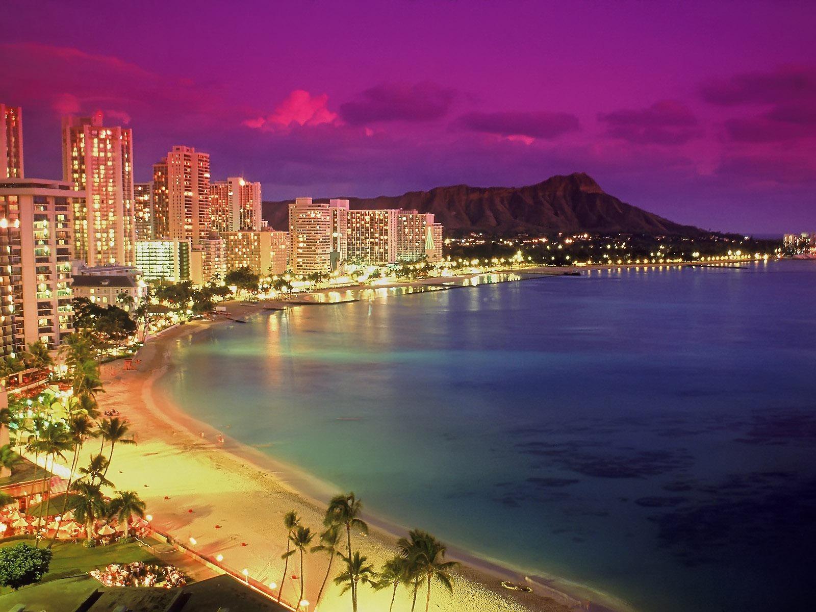 Waikiki Beach Wallpaper United States World