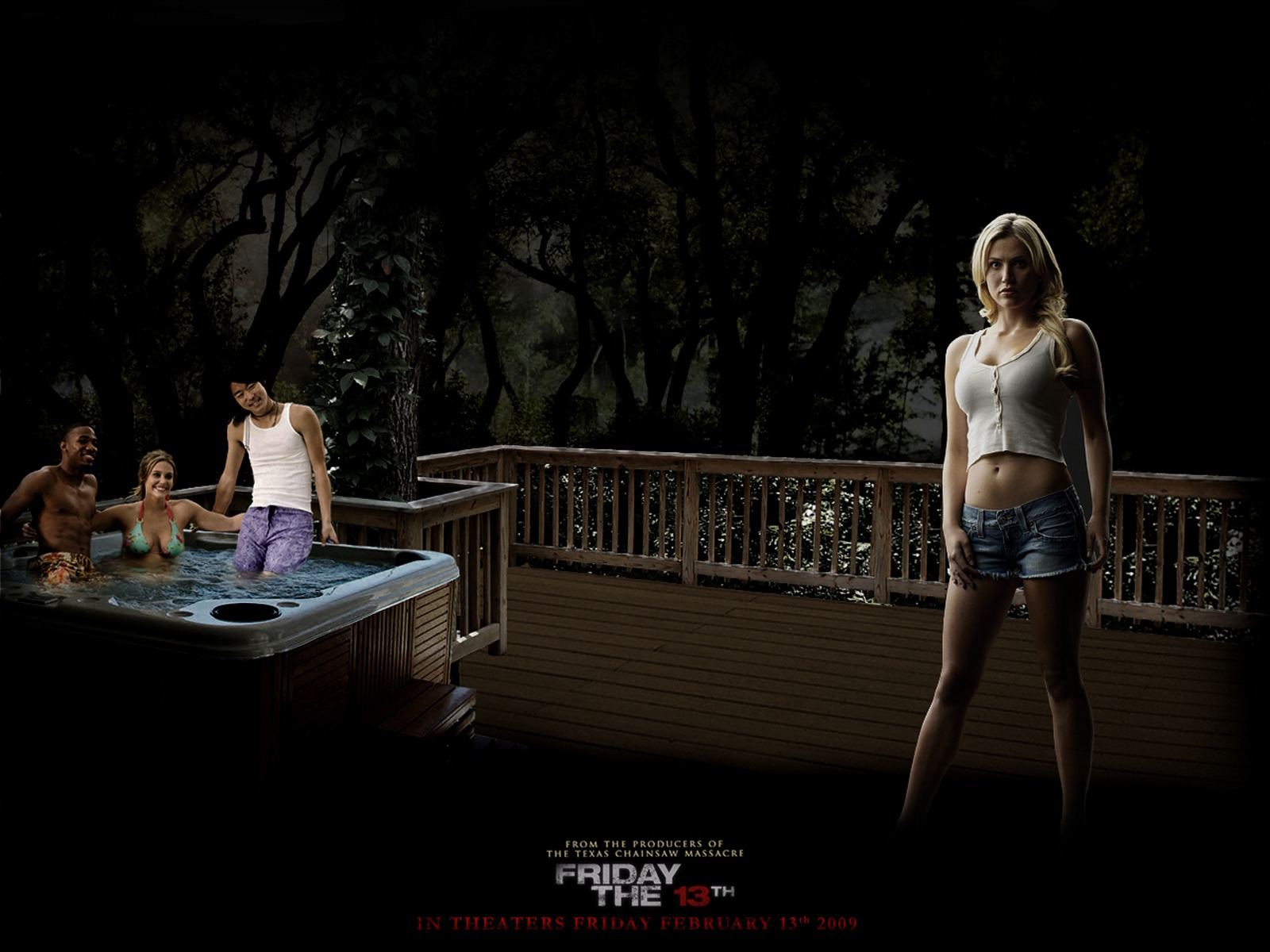 willa ford in firday the 13th wallpaper friday the 13th movies