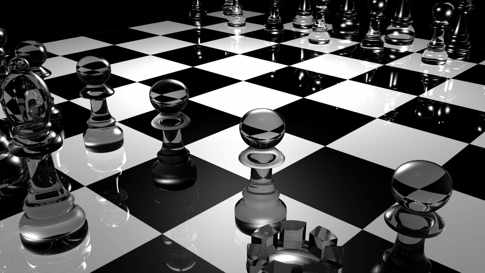 3D Chess Board Wallpaper Models Wallpapers