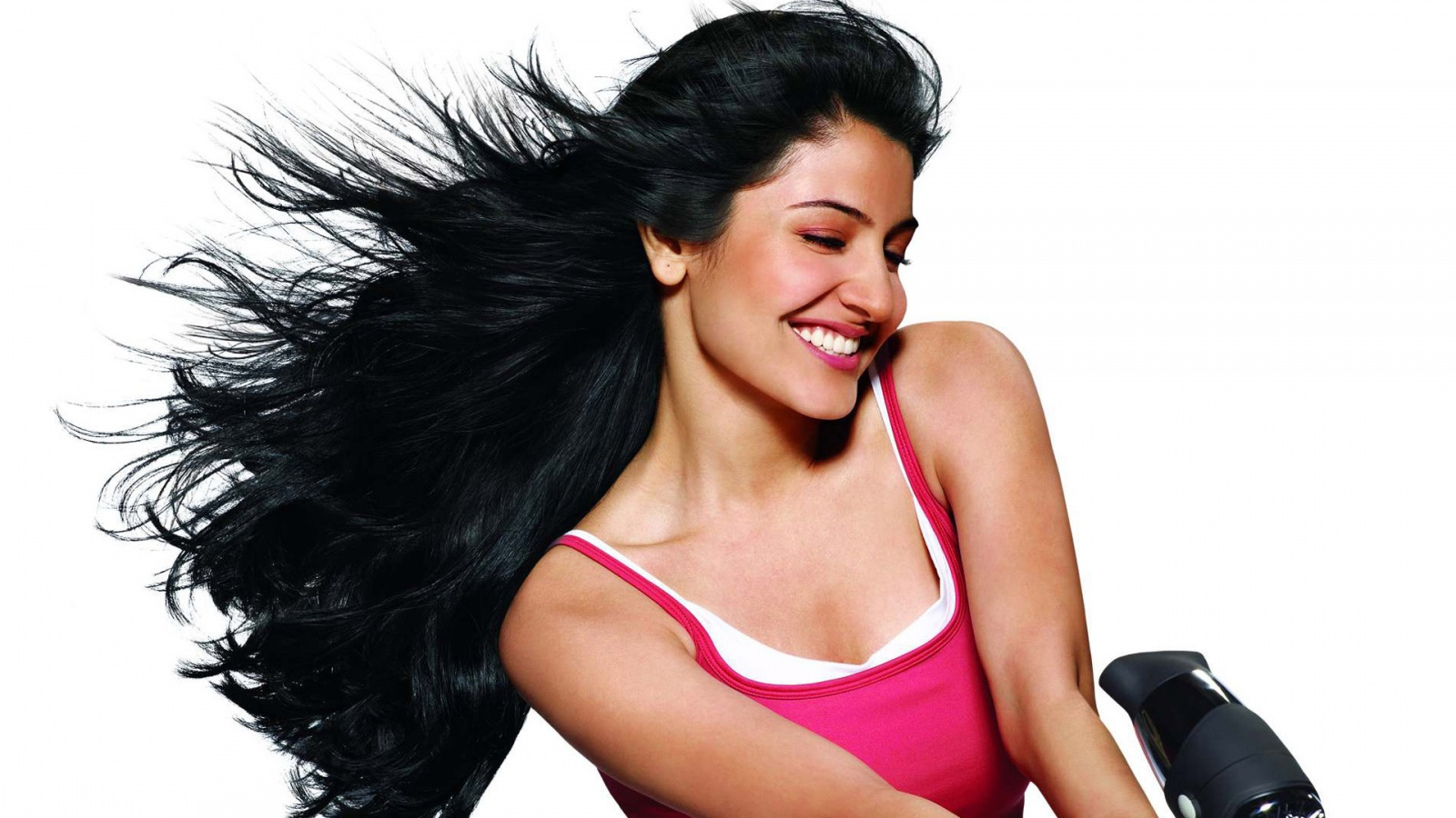 Beautiful Anushka Sharma Smile Face Desktop Mobile Background Free