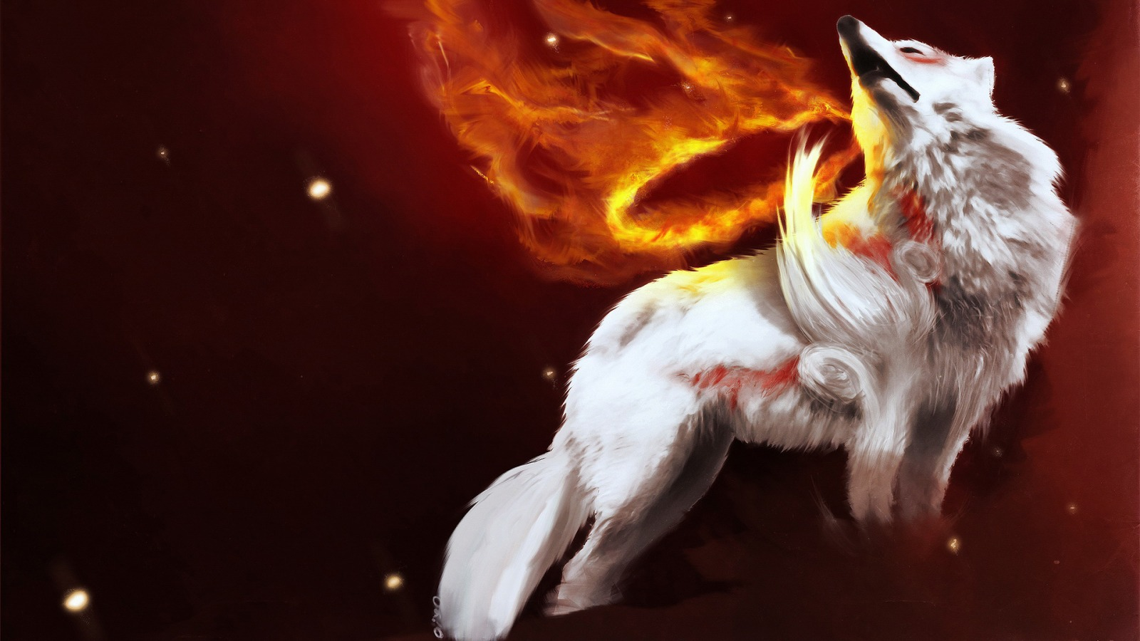 Okami Wallpaper Japanese Characters Anime Animated Wallpapers In Jpg