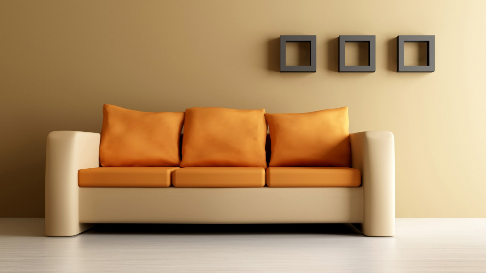Orange Couch Wallpaper Interior Design Other Wallpapers