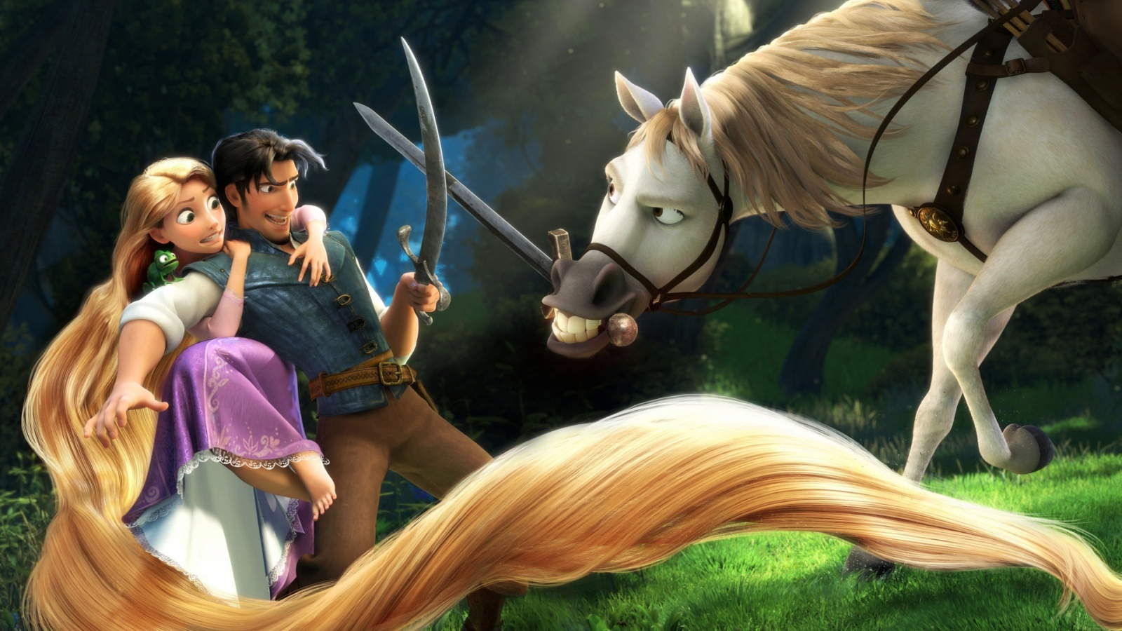 Rapunzel Flynn In Tangled Wallpapers