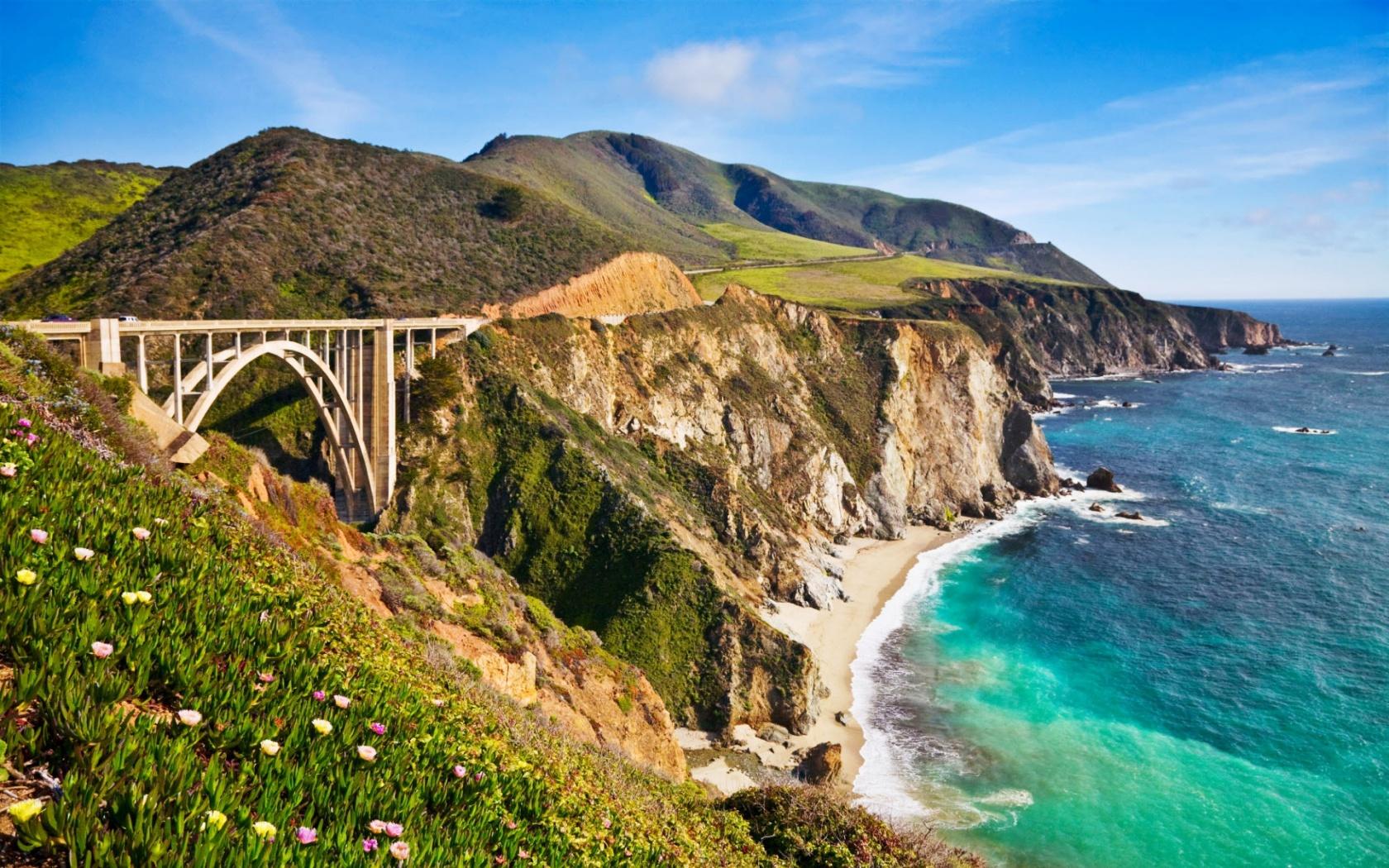 bixby bridge in big sur california wallpapers in jpg format for free