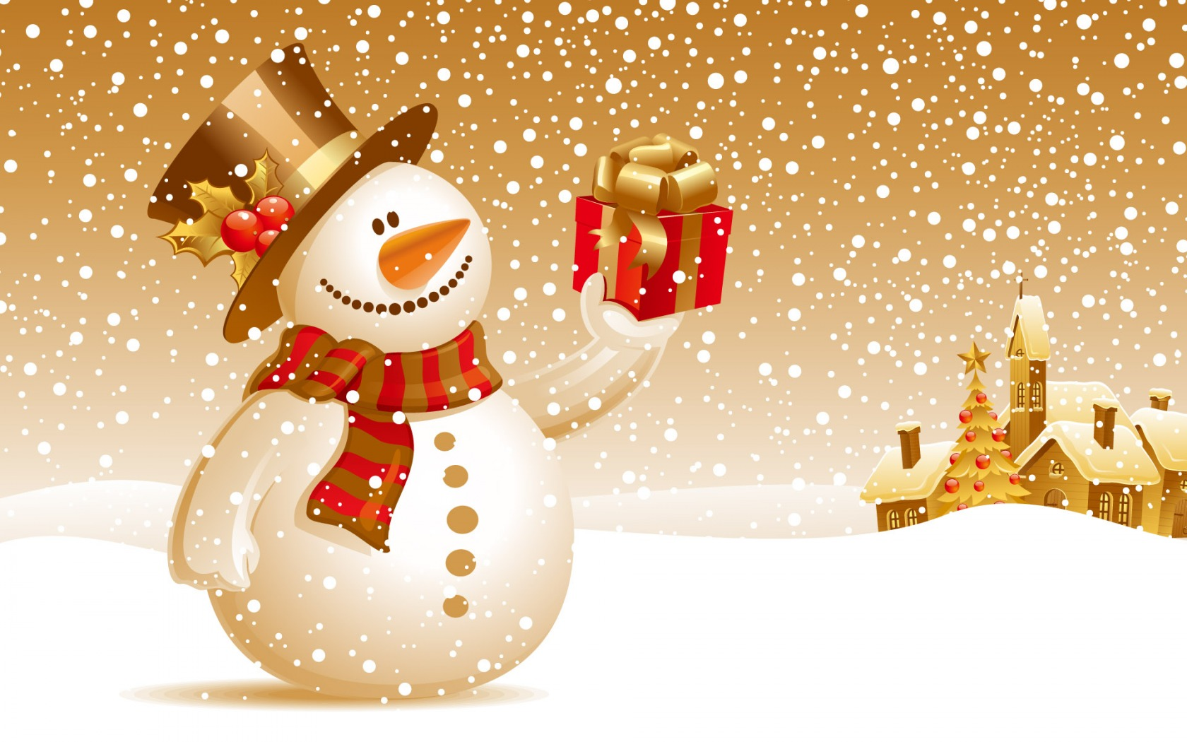 Christmas Snowman Wallpaper Christmas Holidays Wallpapers in jpg ...