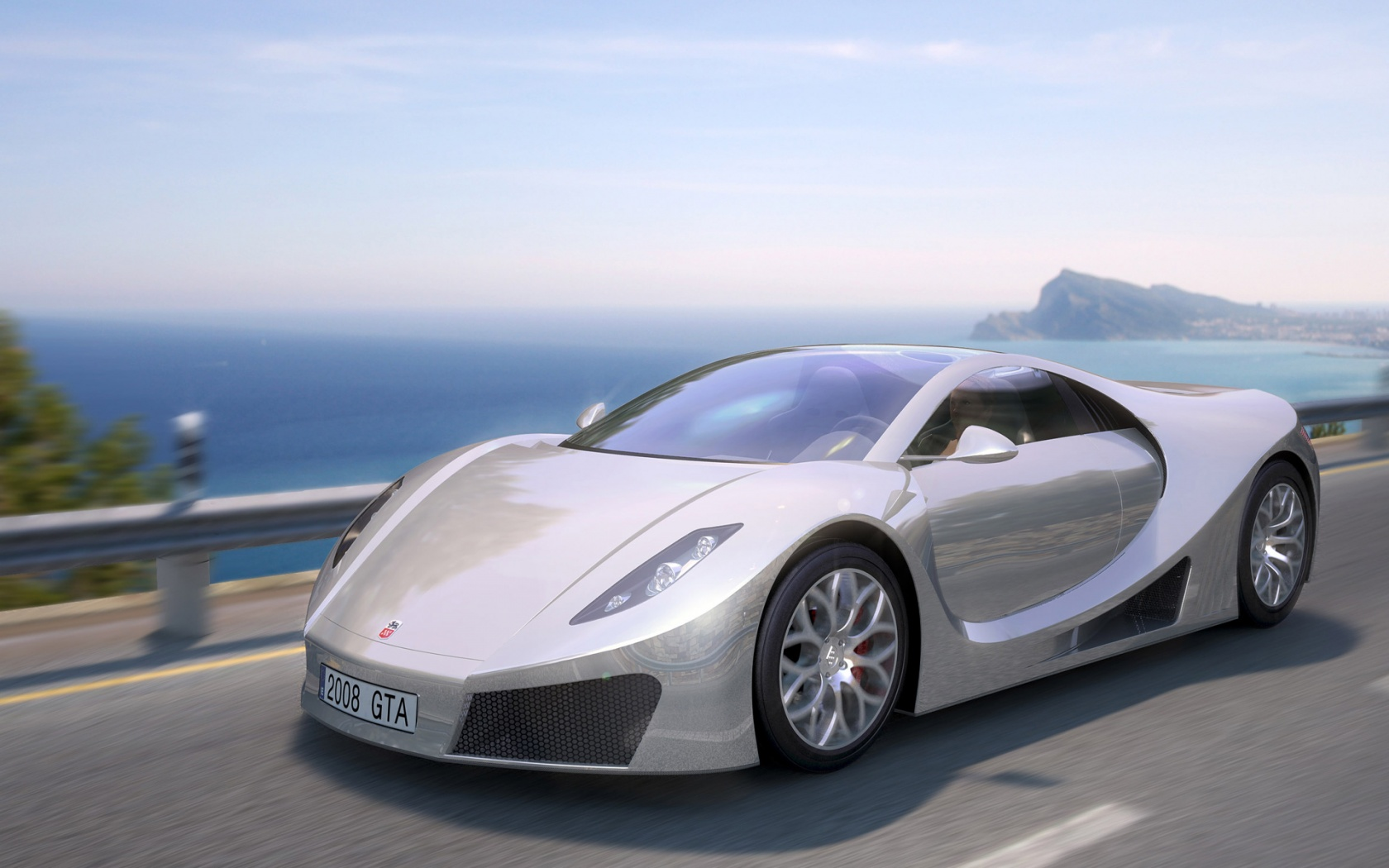 Wonderful GTA Concept Super Sport Car 3 Wallpapers