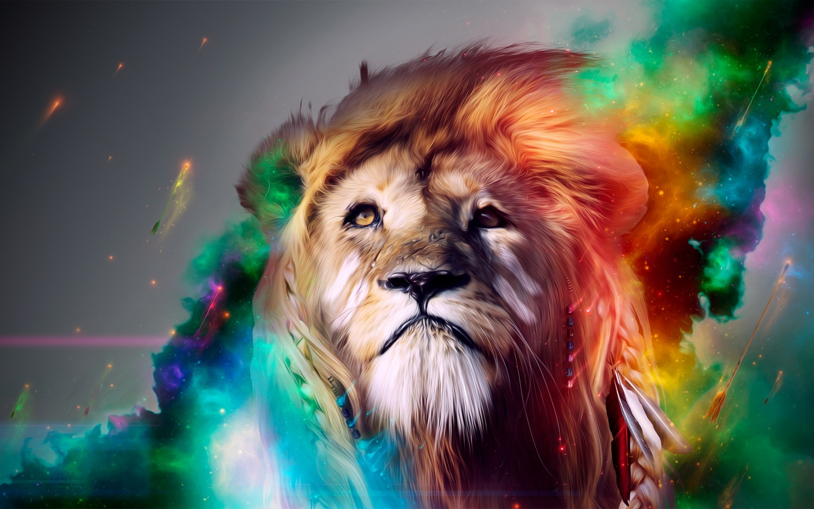 Lion Abstract Wallpapers