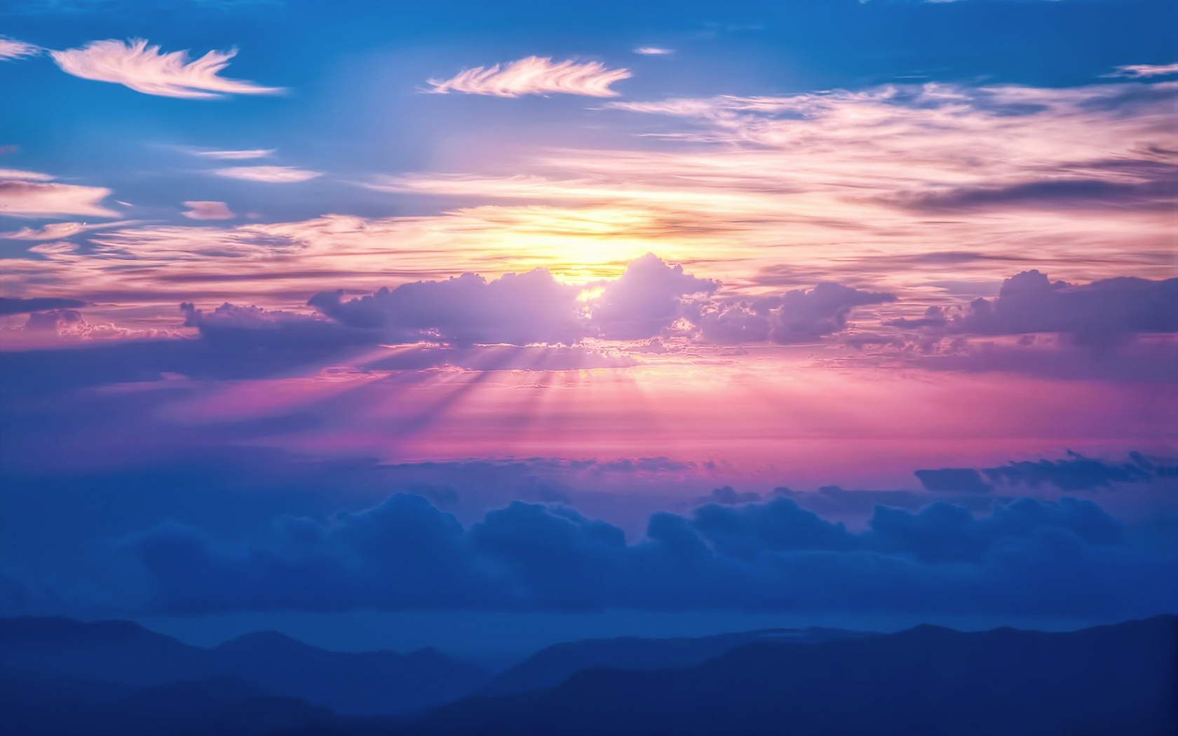 Sunrays Sky Clouds Wallpapers In Jpg Format For Free Download