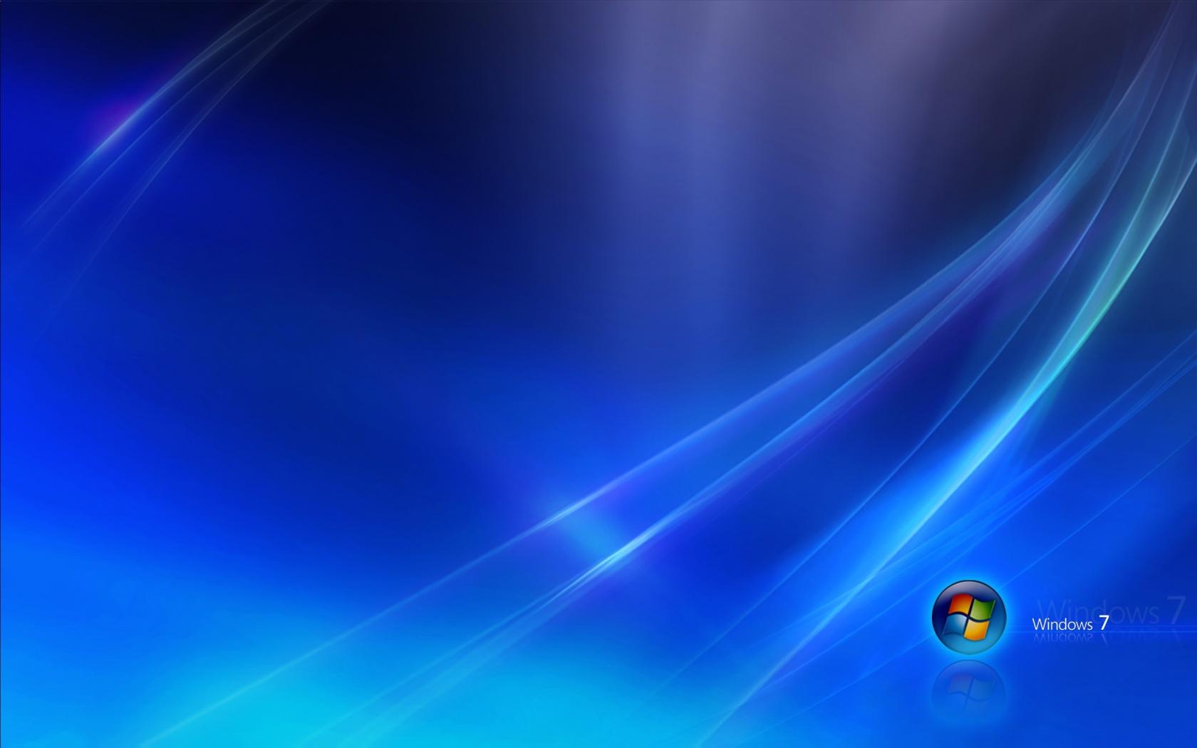 Windows 7 Blue Dark Wallpapers