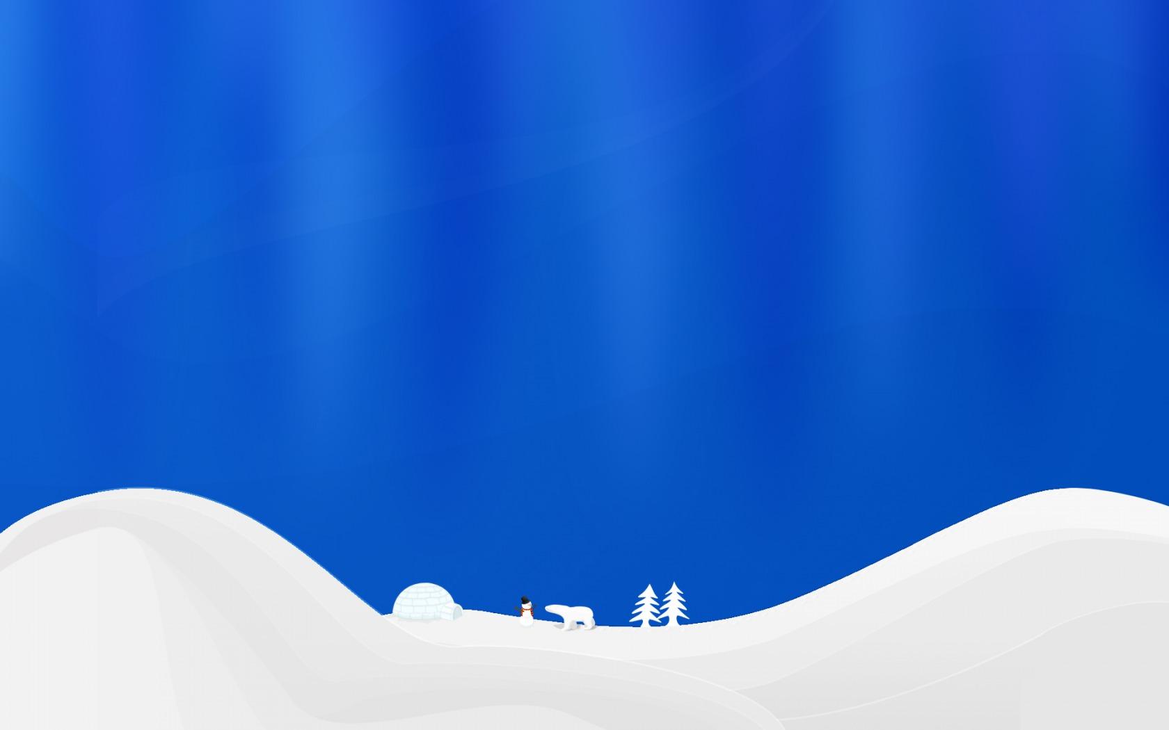Winter simple vector Wallpaper Vector D Wallpapers in jpg format