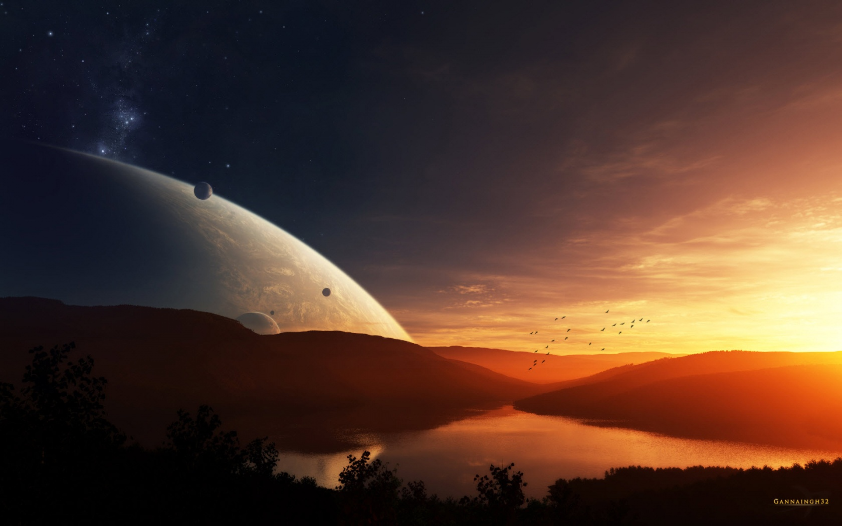K Space Wallpapers on