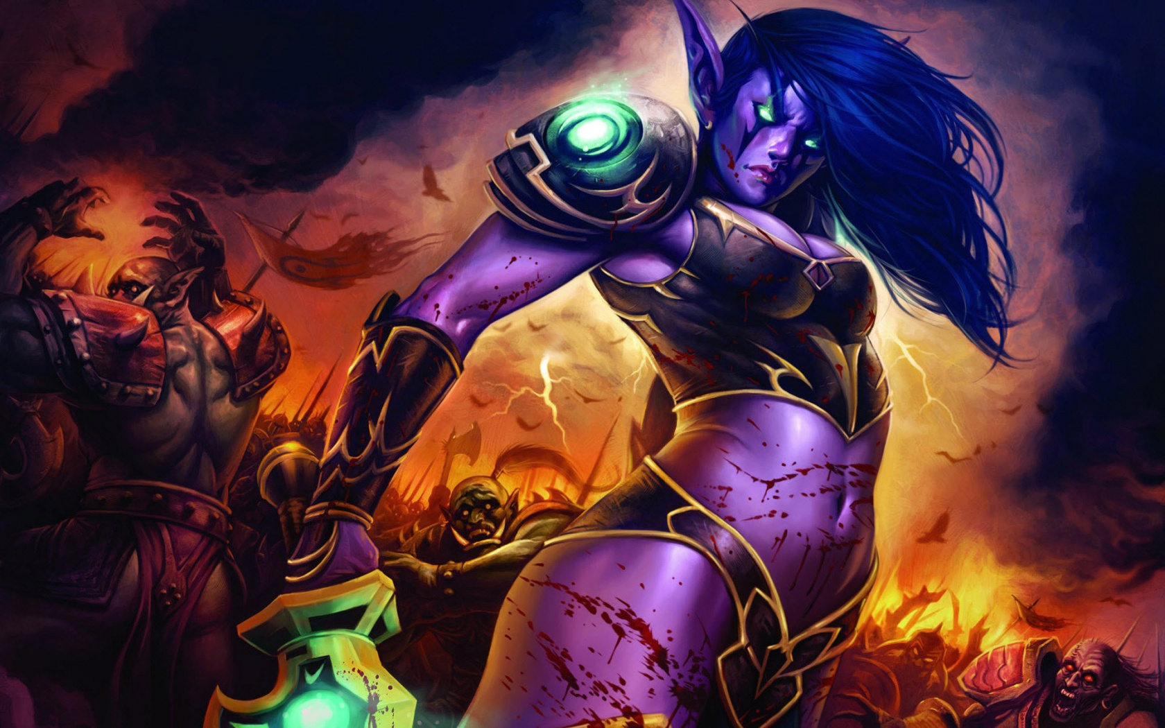 World Of Warcraft Lady Wallpapers In Jpg Format For Free Download