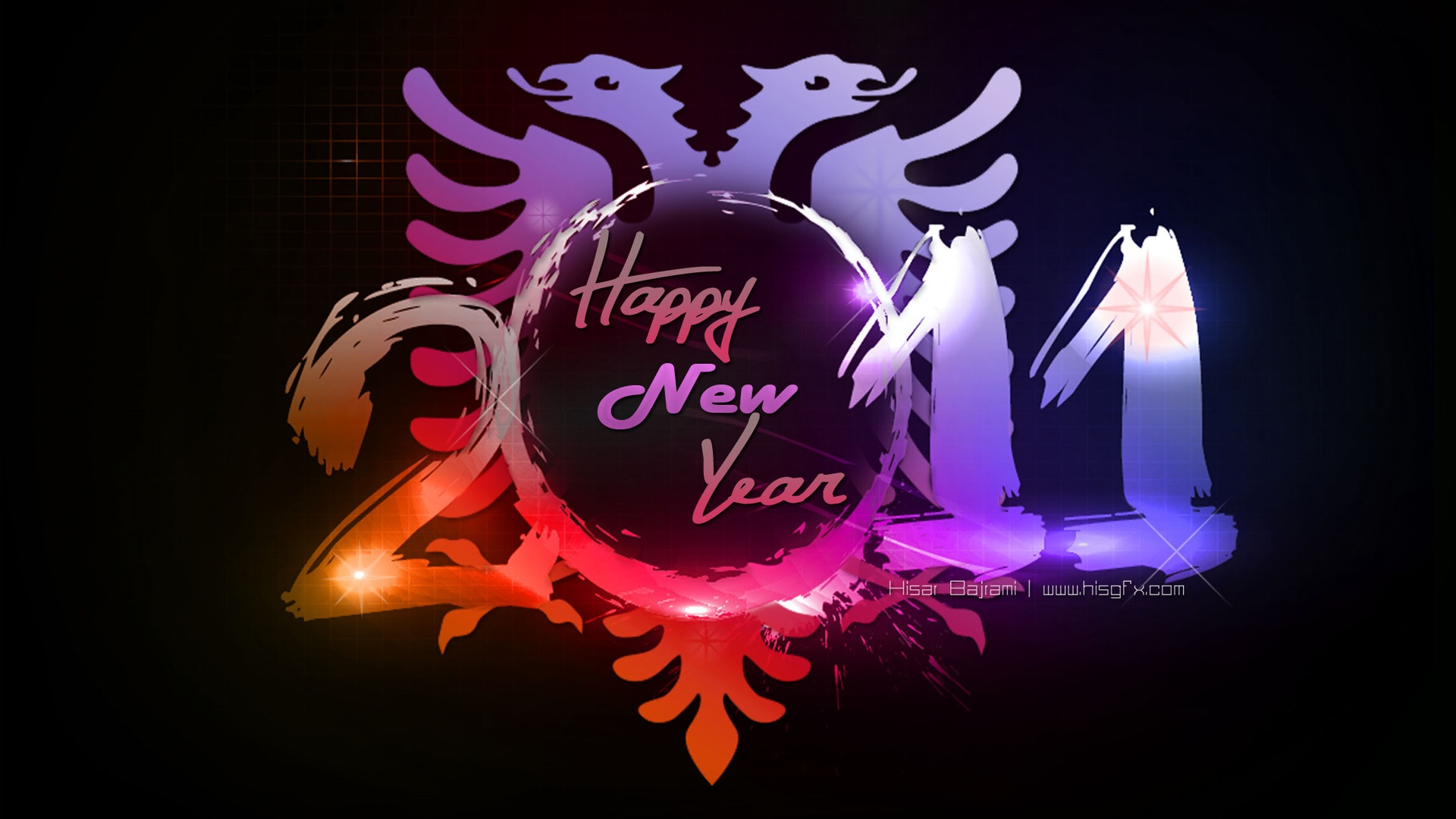 2011 happy new year 1080p wallpapers