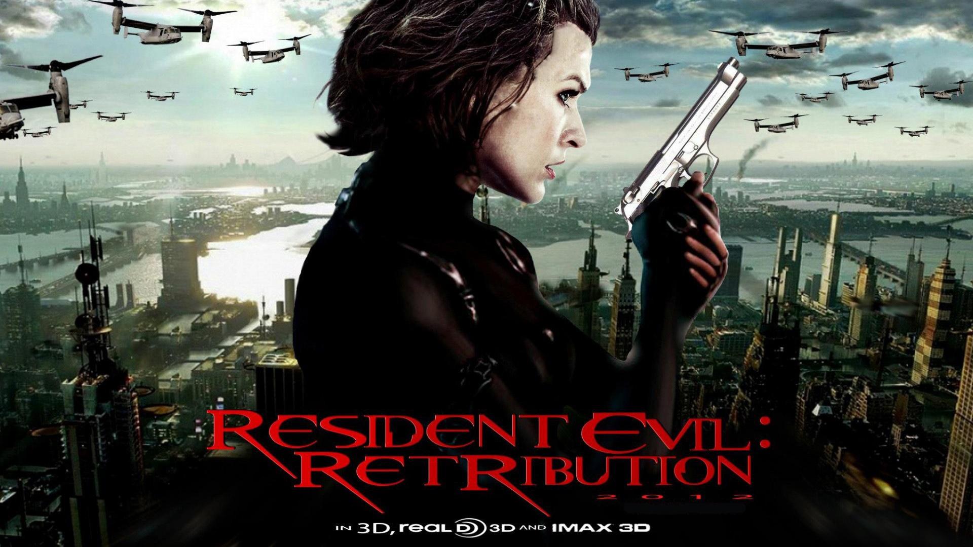Resident Evil Retribution HD Wallpapers Backgrounds