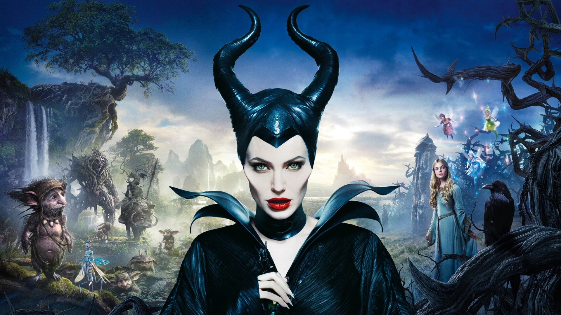 Angelina Jolie In Maleficent Wallpapers In Jpg Format For