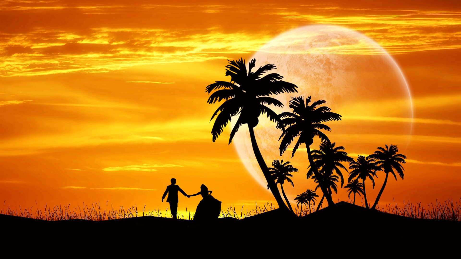Couple Dance Evening Wallpapers