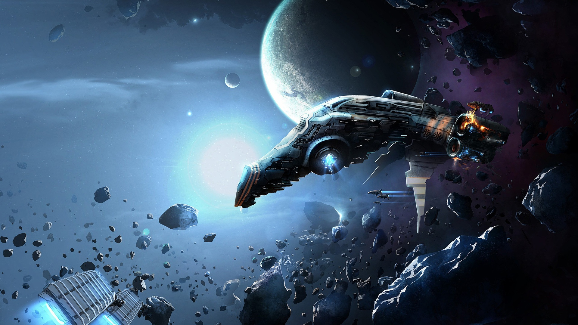 Eve Online Backgrounds Collection for Mobile WPBG